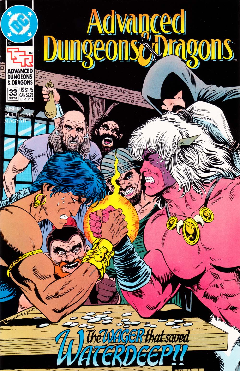 Read online Advanced Dungeons & Dragons comic -  Issue #33 - 1