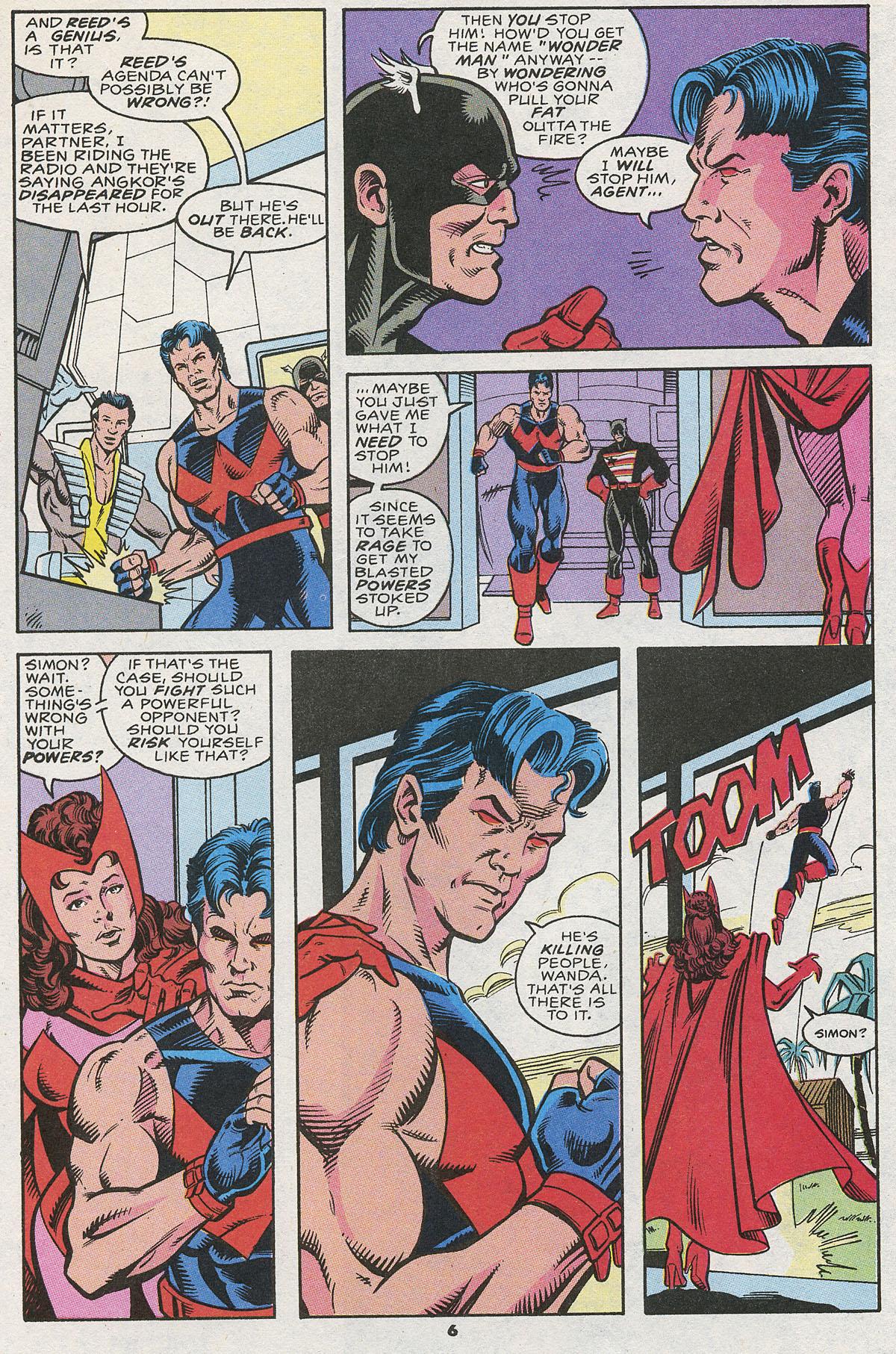 Read online Wonder Man (1991) comic -  Issue #12 - 6