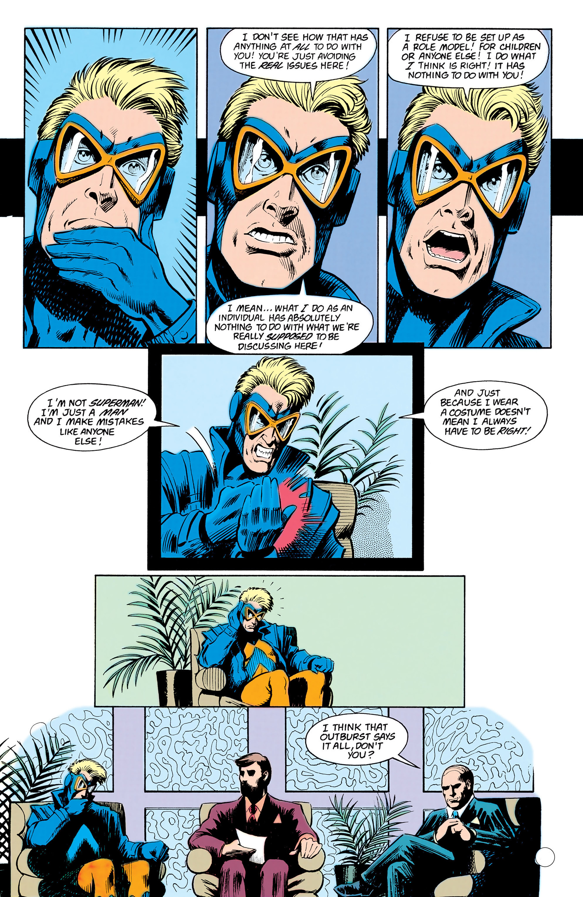 Read online Animal Man (1988) comic -  Issue #17 - 21