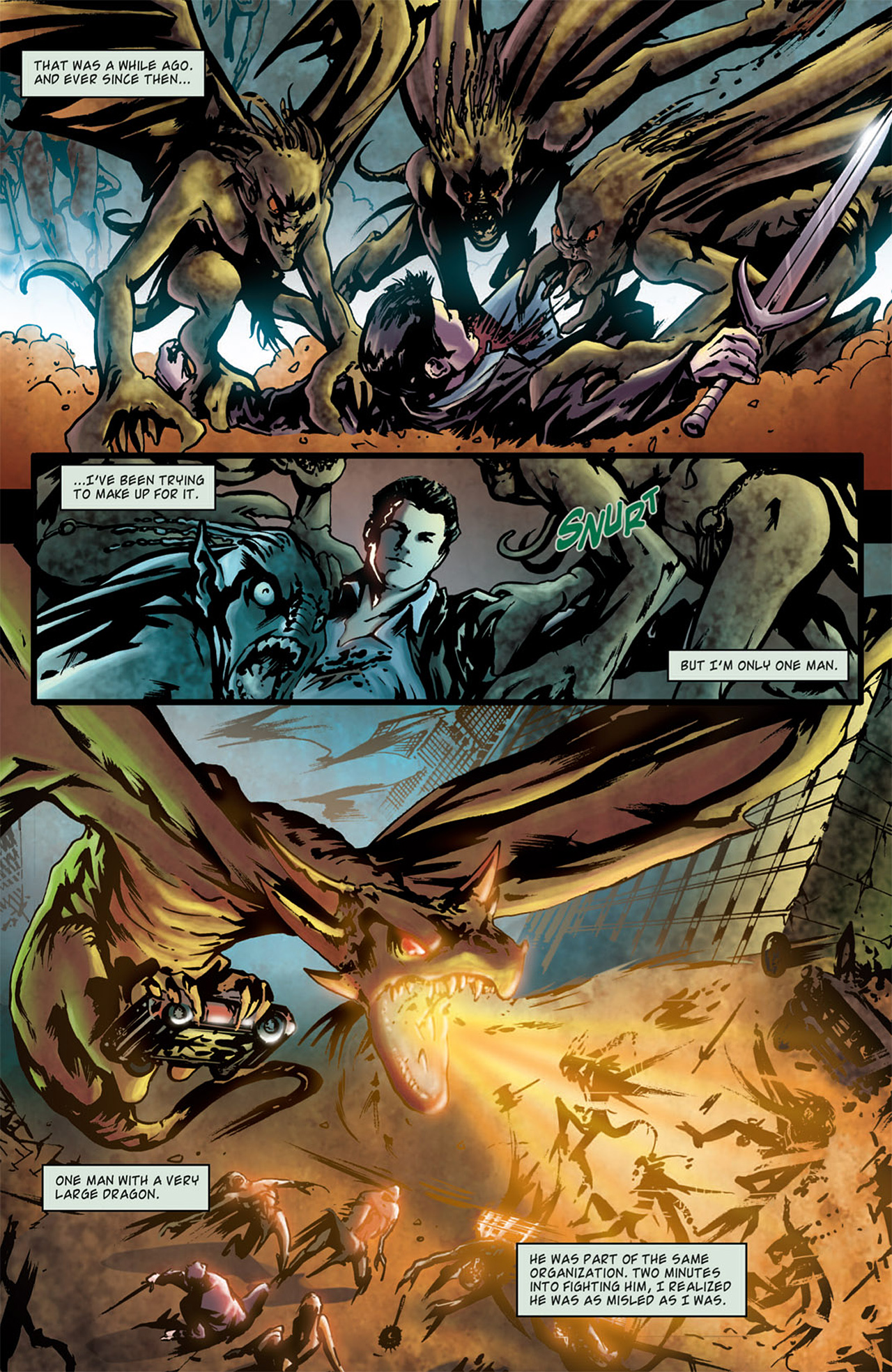 Read online Angel: After The Fall comic -  Issue #1 - 5