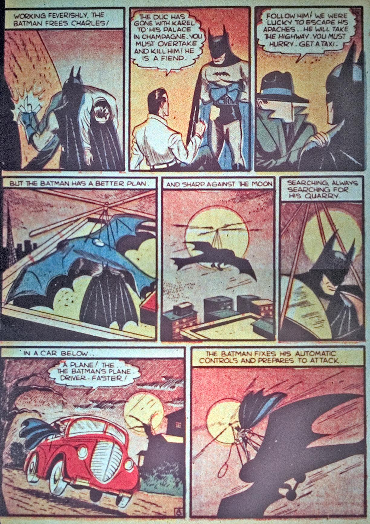 Read online Detective Comics (1937) comic -  Issue #34 - 10