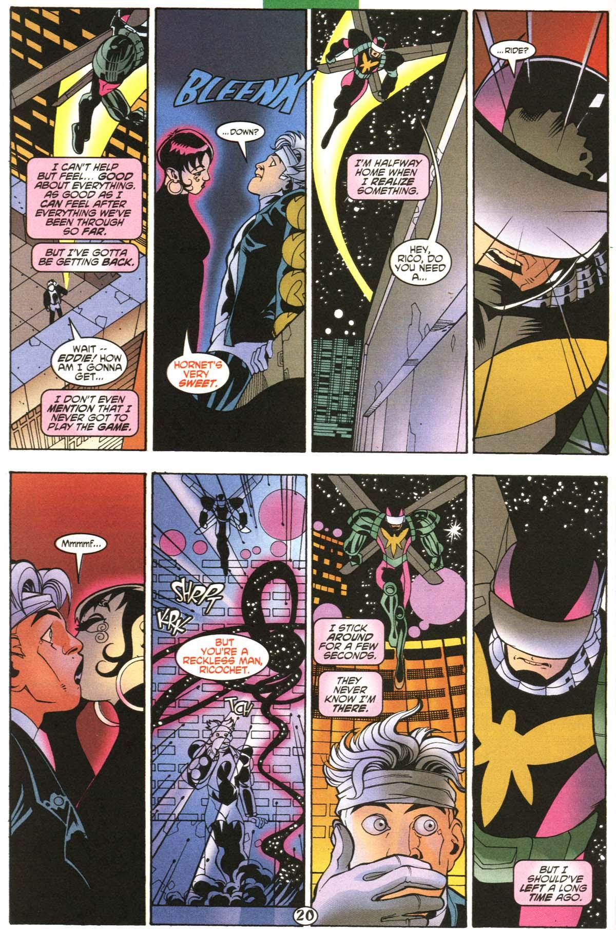 Read online Slingers comic -  Issue #6 - 21