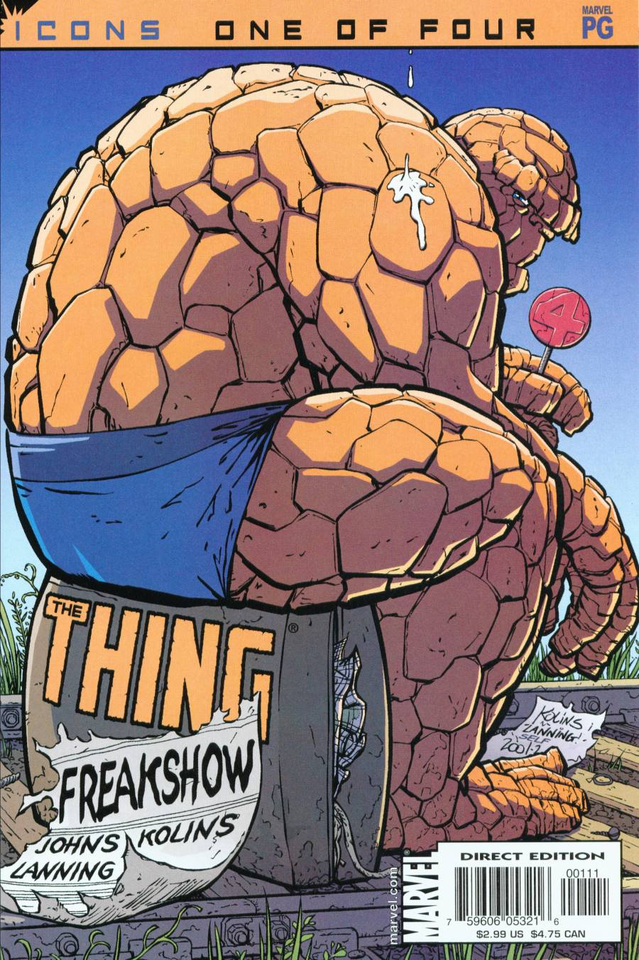 The Thing: Freakshow 1 Page 1
