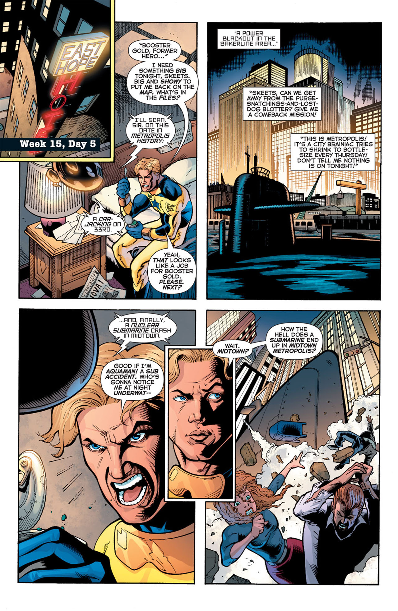 Read online 52 comic -  Issue #15 - 4