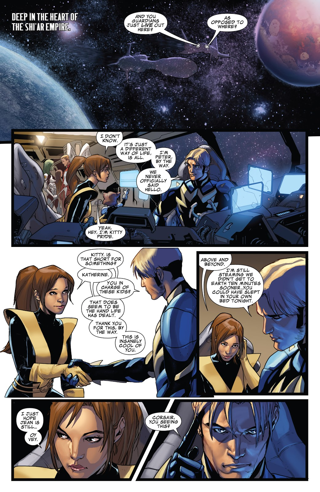 Guardians of the Galaxy/All-New X-Men: The Trial of Jean Grey issue TPB - Page 75