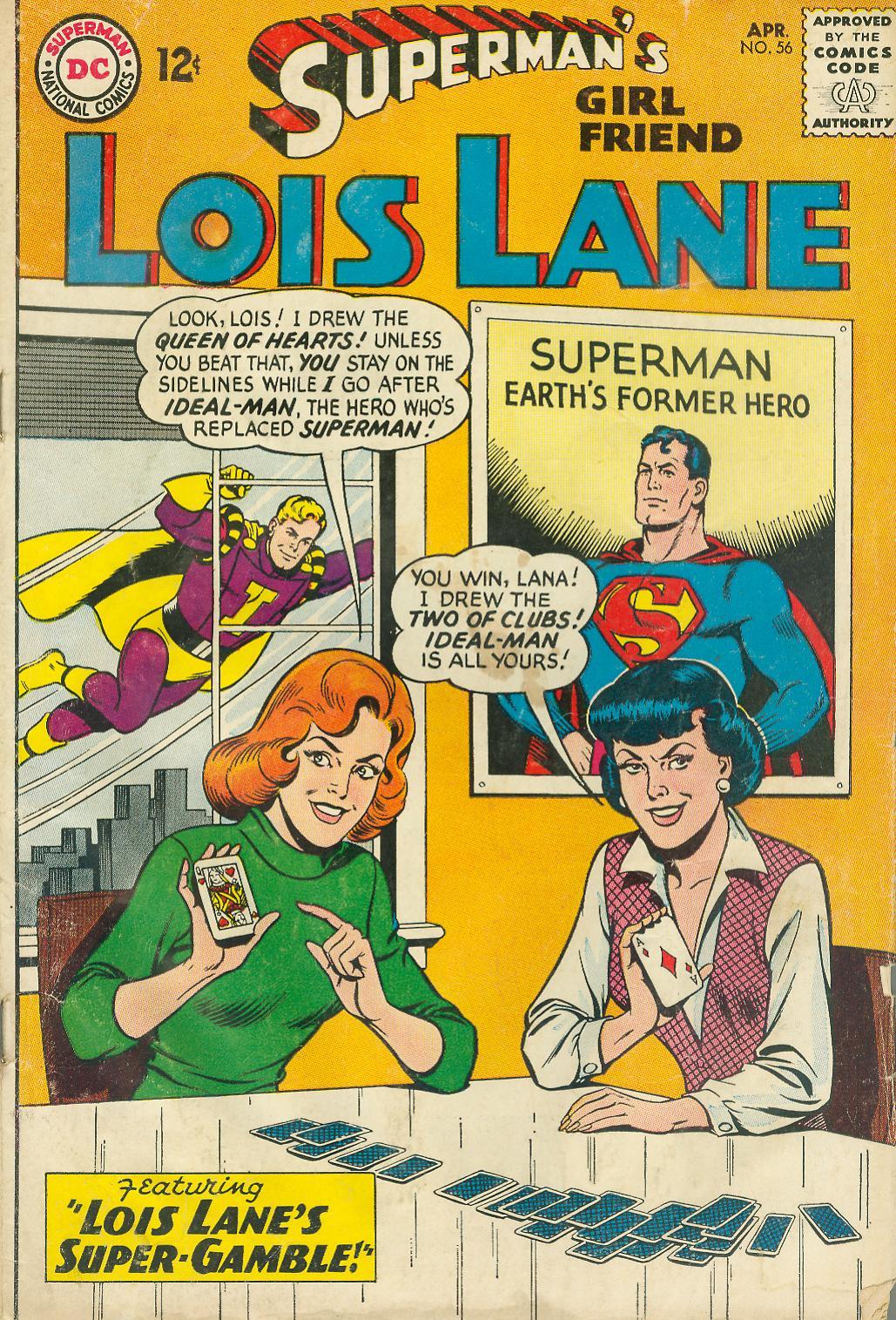 Supermans Girl Friend, Lois Lane 56 Page 1
