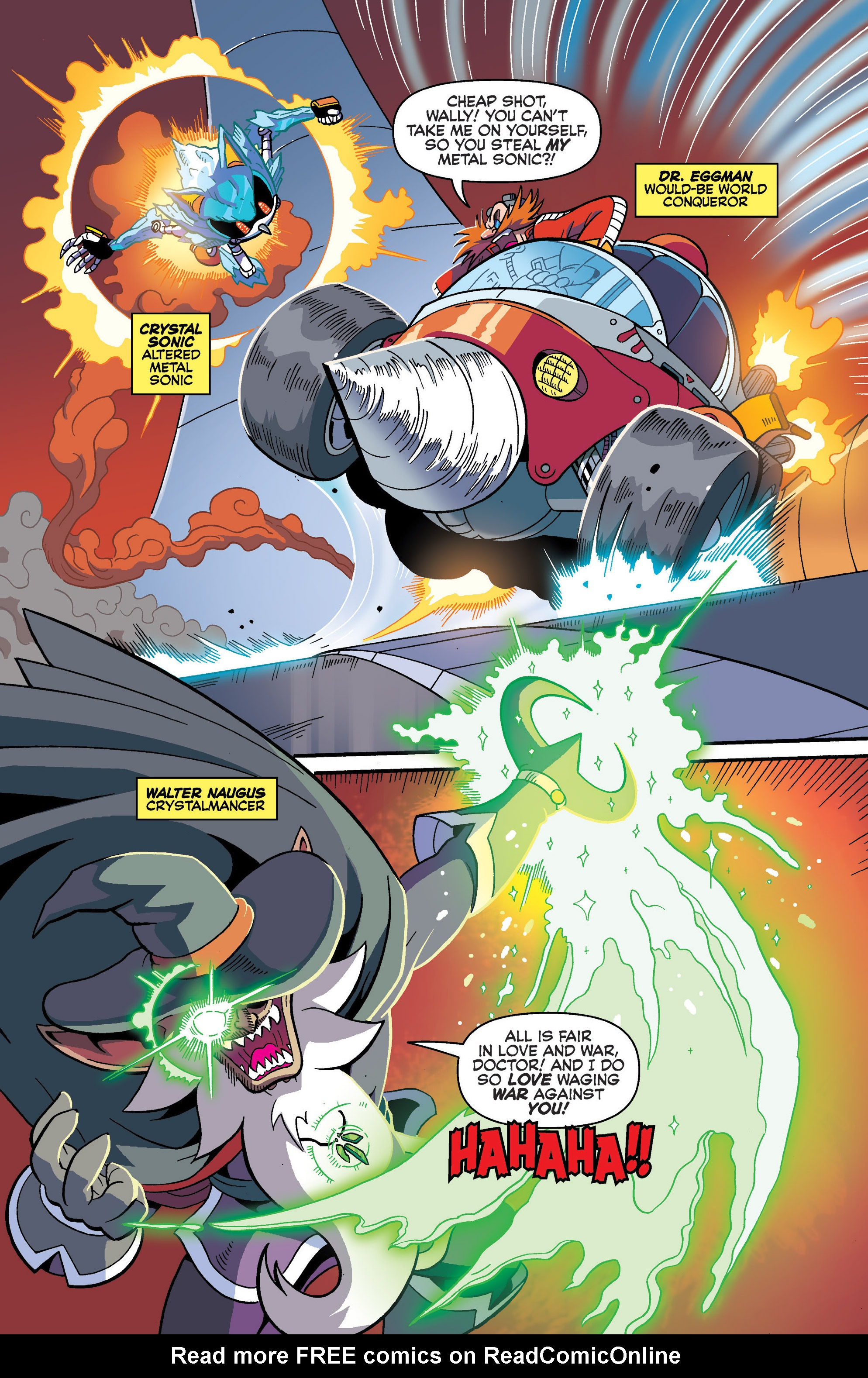 Read online Sonic Universe comic -  Issue #86 - 3