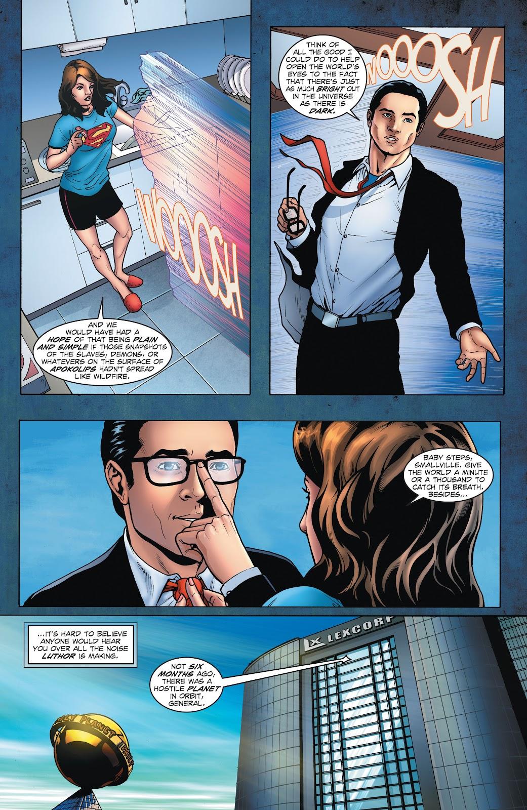 Read online Smallville Season 11 [II] comic -  Issue # TPB 1 - 20