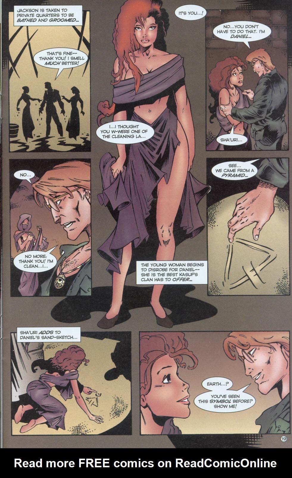 Read online Stargate comic -  Issue #1 - 21