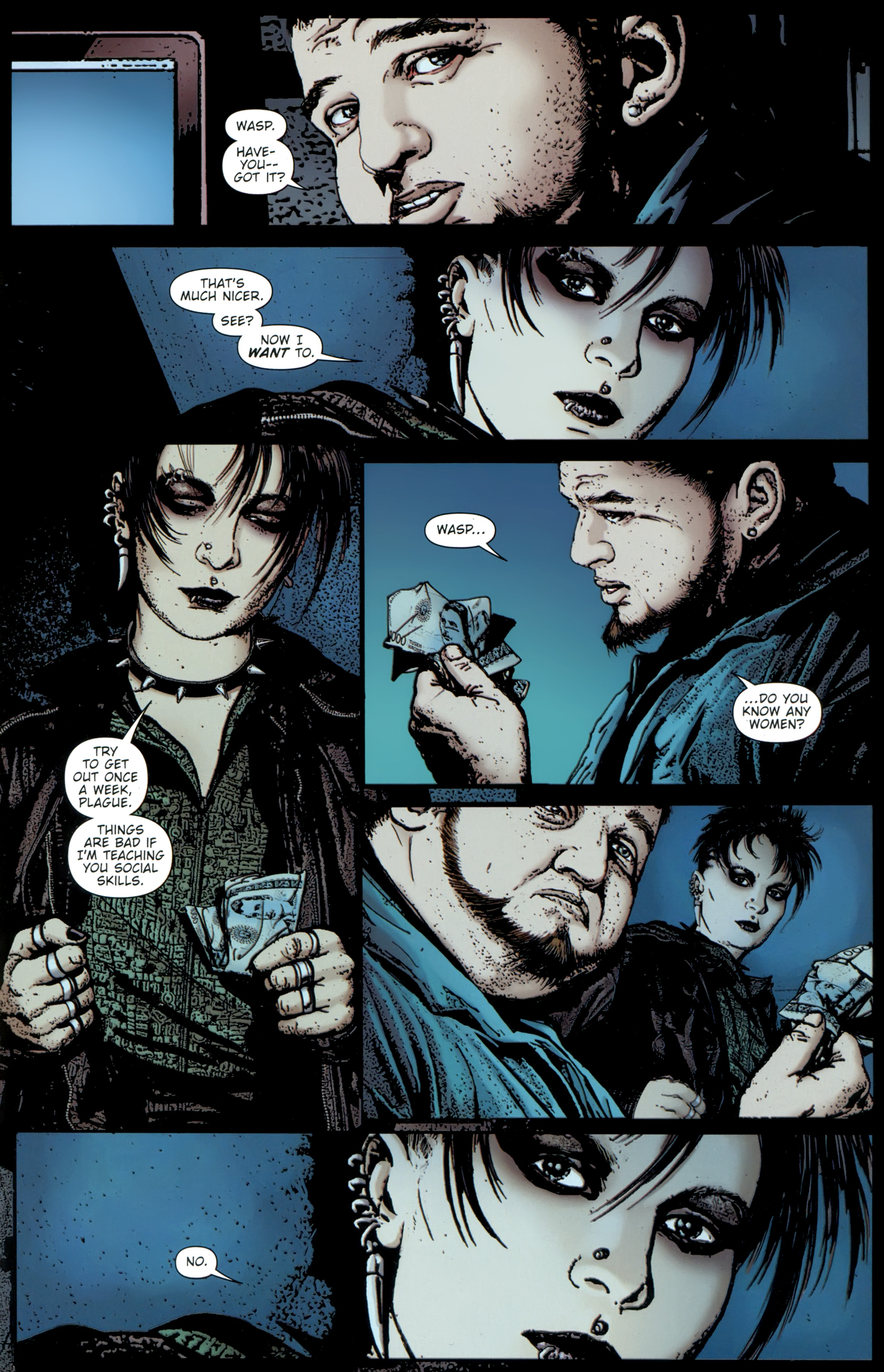 Read online The Girl With the Dragon Tattoo comic -  Issue # TPB 1 - 64
