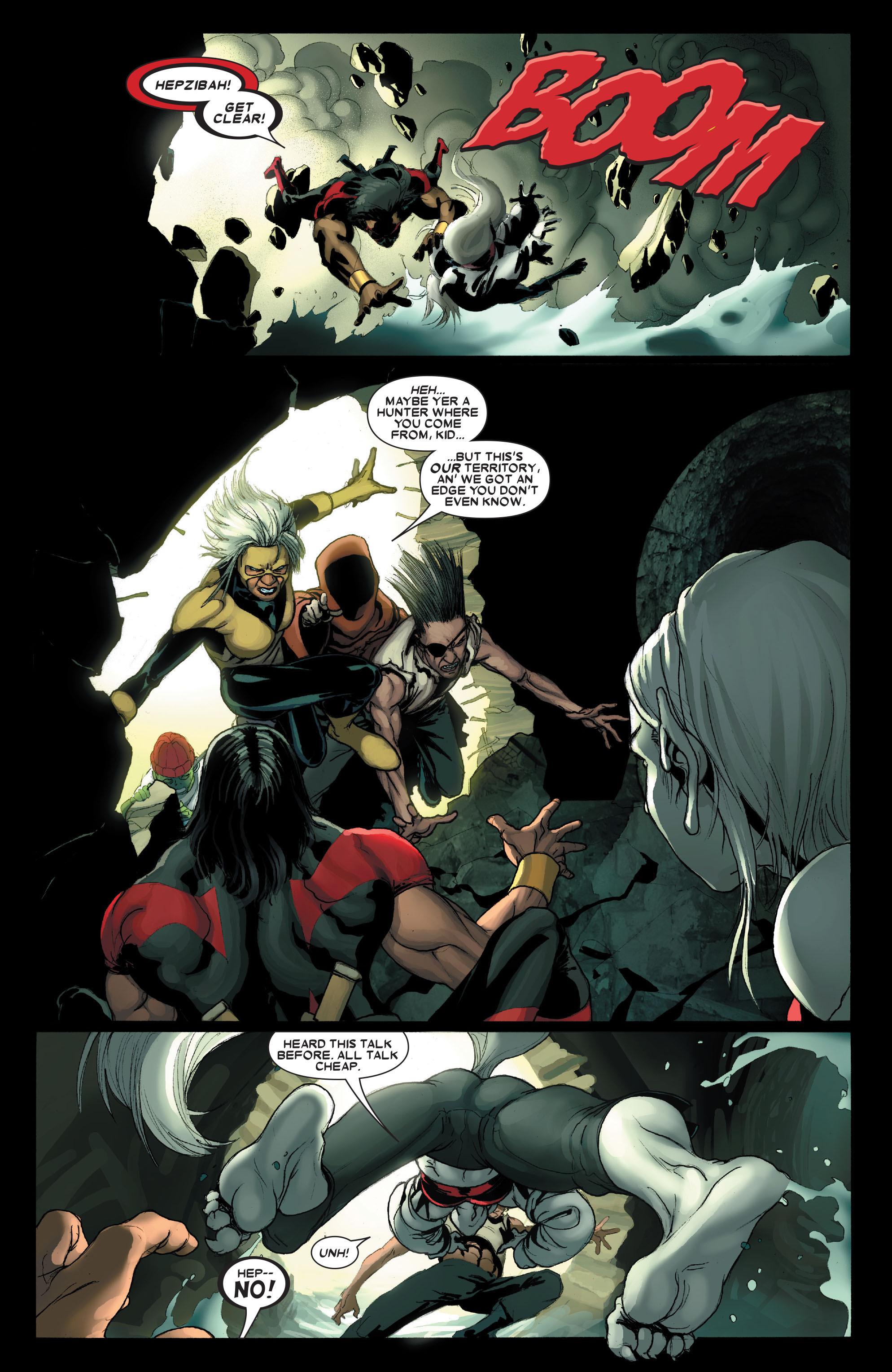 Read online Uncanny X-Men (1963) comic -  Issue #490 - 8