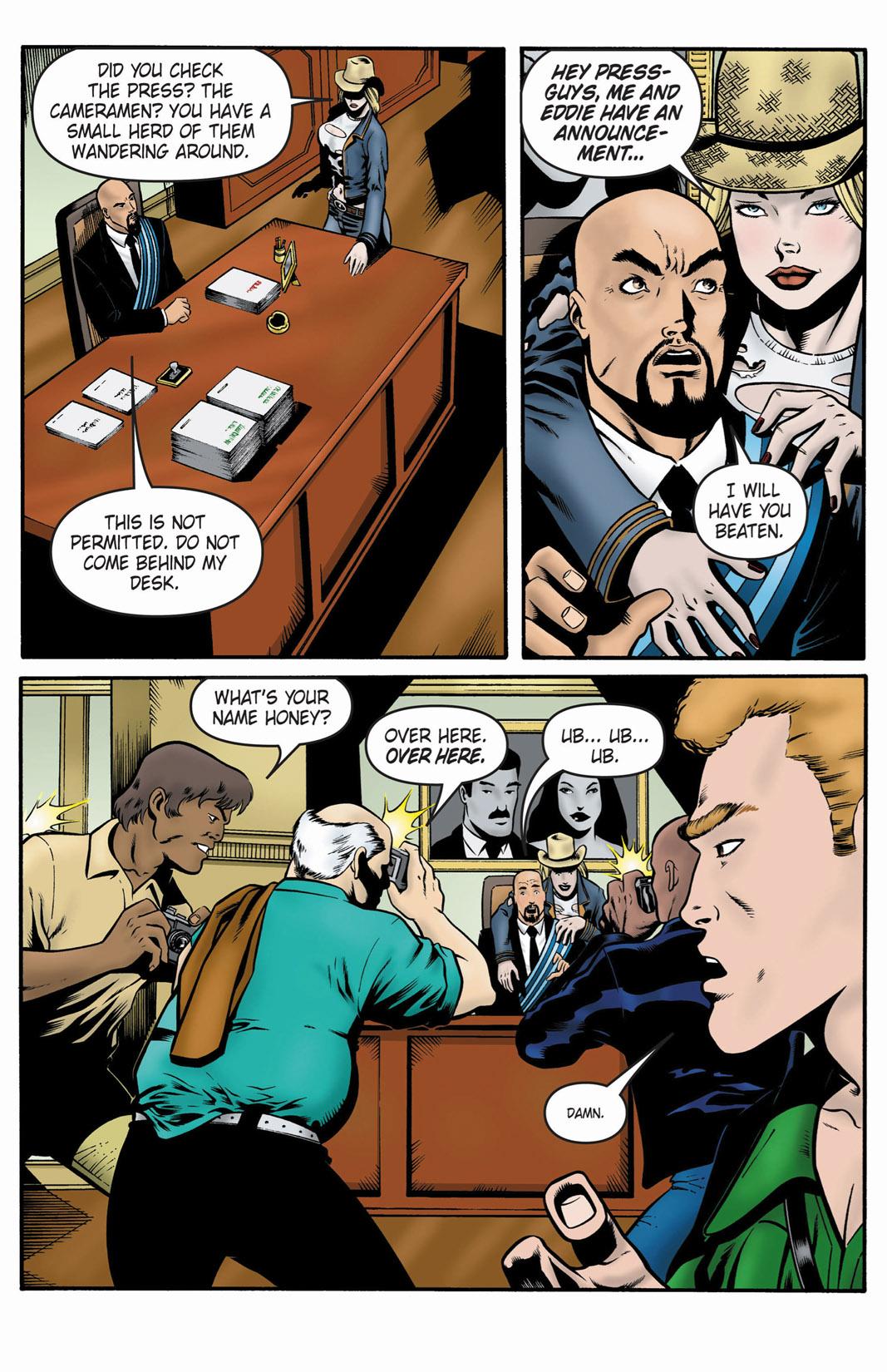 Read online SideChicks comic -  Issue #1 - 30