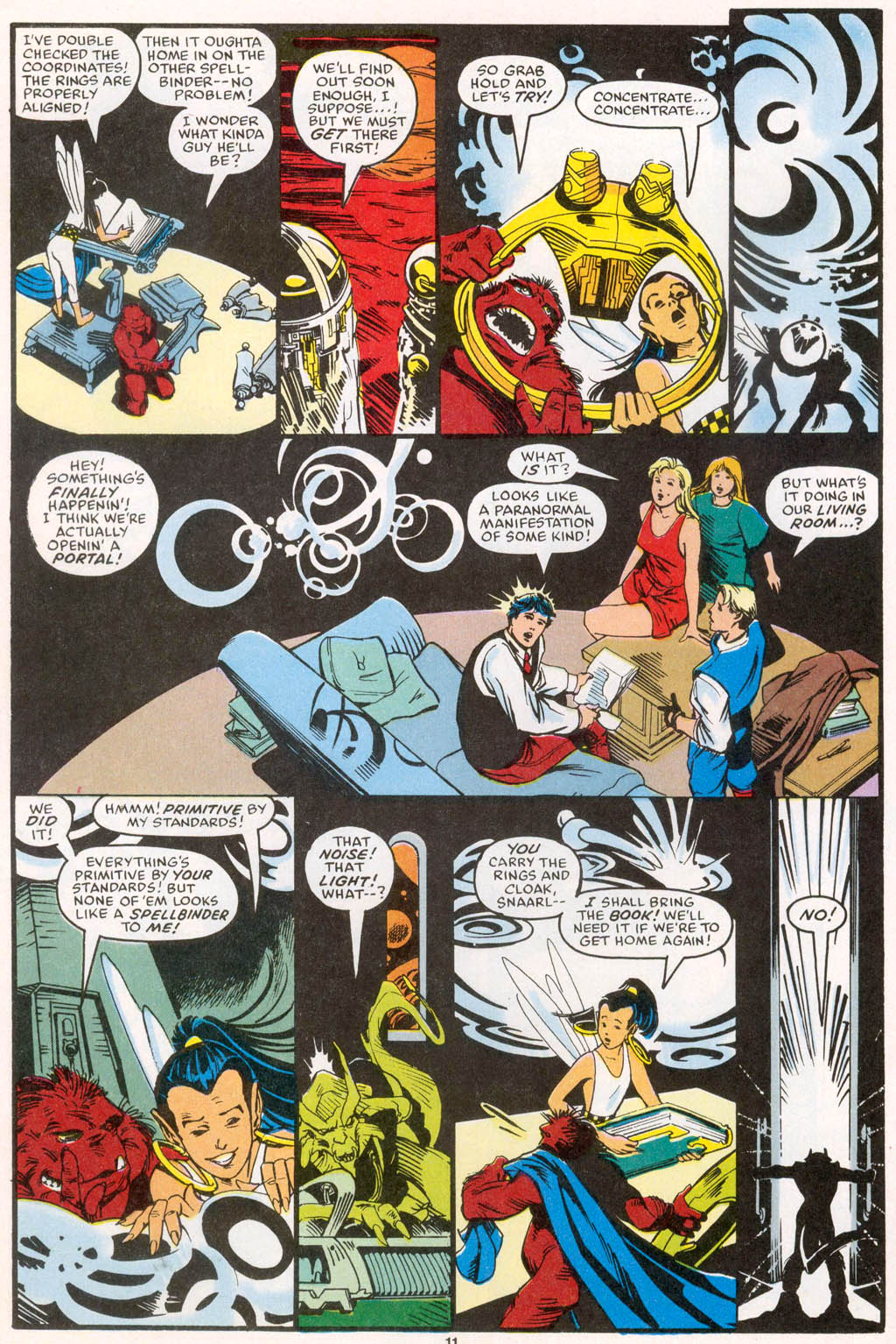 Read online Spellbound comic -  Issue #1 - 12