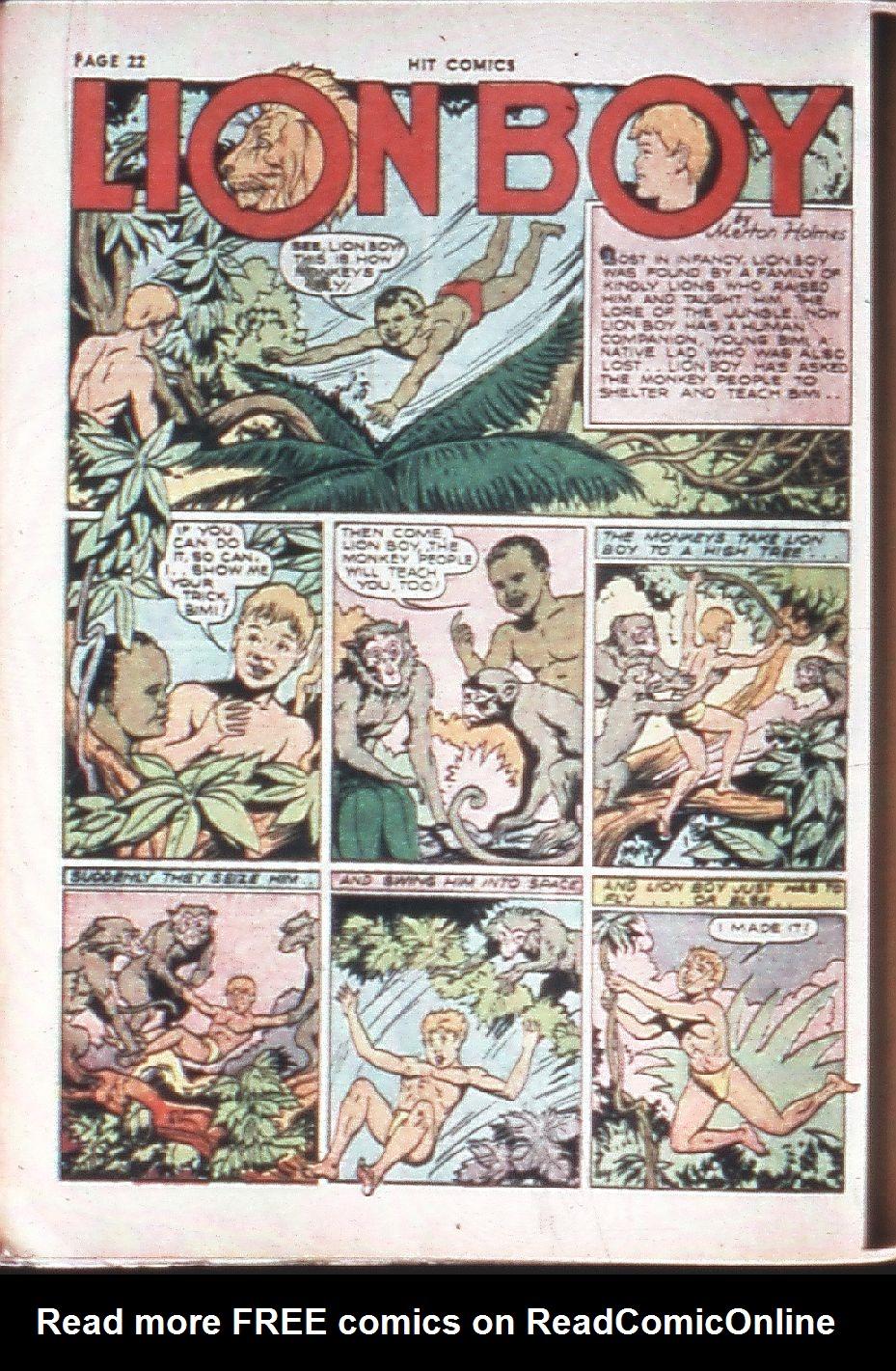 Read online Hit Comics comic -  Issue #10 - 24
