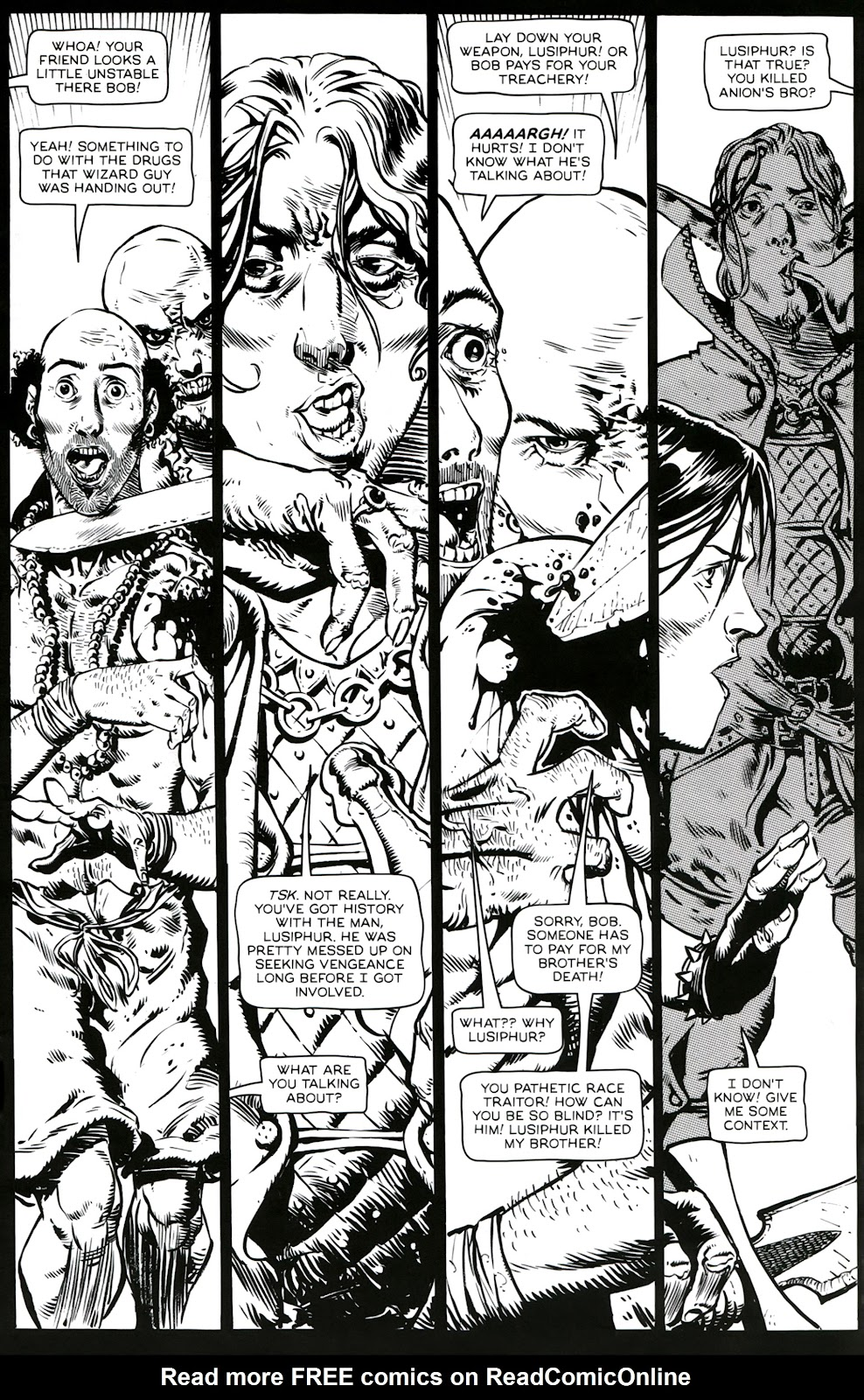 Read online Poison Elves (2013) comic -  Issue #3 - 19