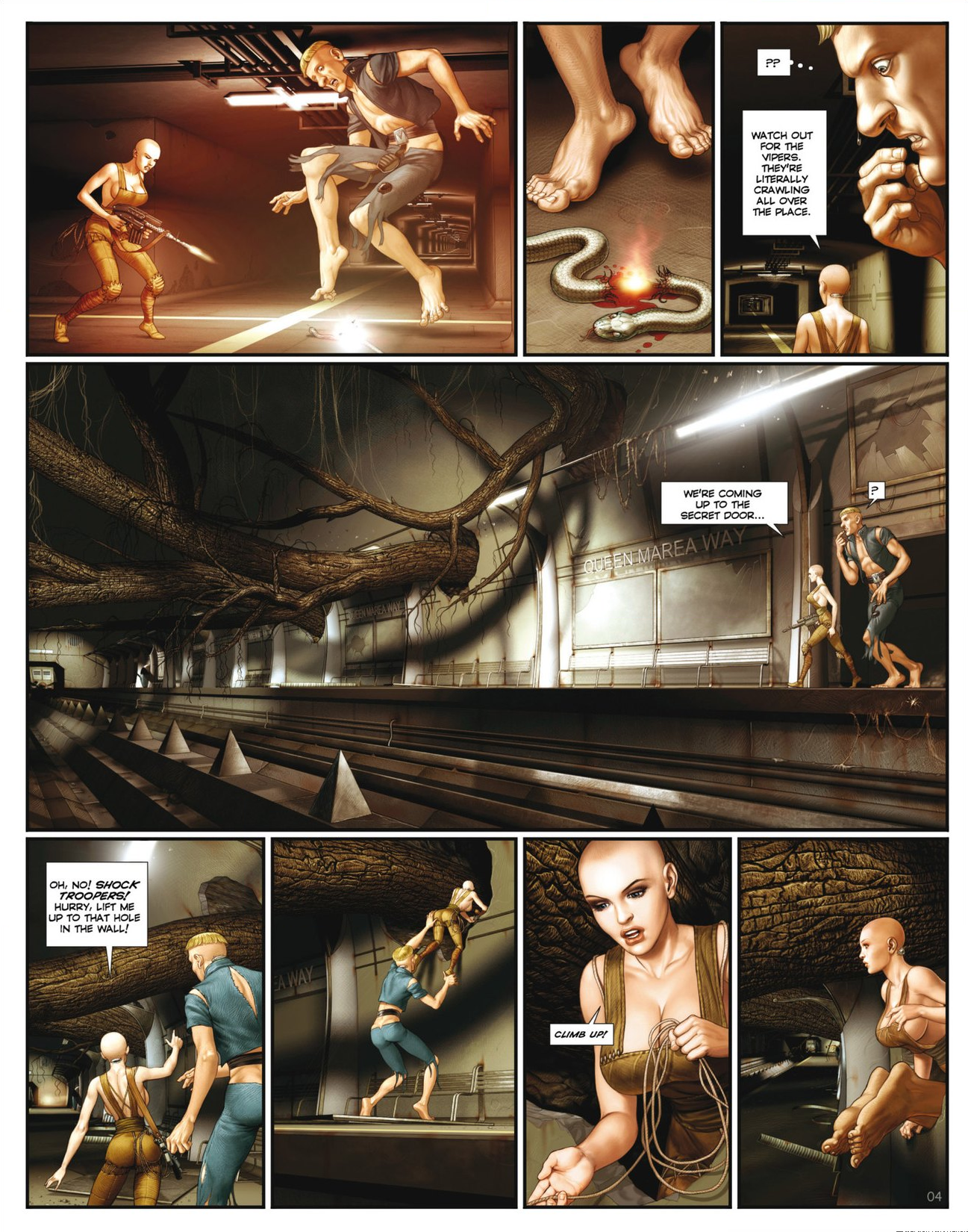 Read online Megalex (2014) comic -  Issue #2 - 6