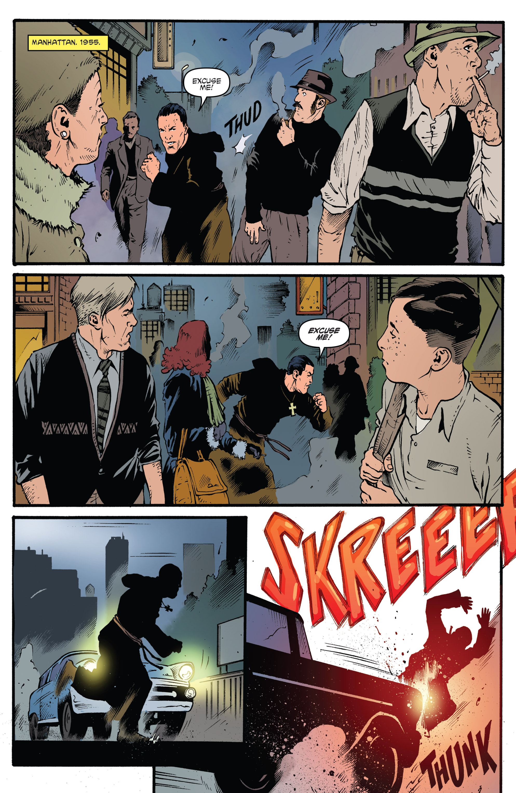 Read online Highlander: The American Dream comic -  Issue #4 - 3