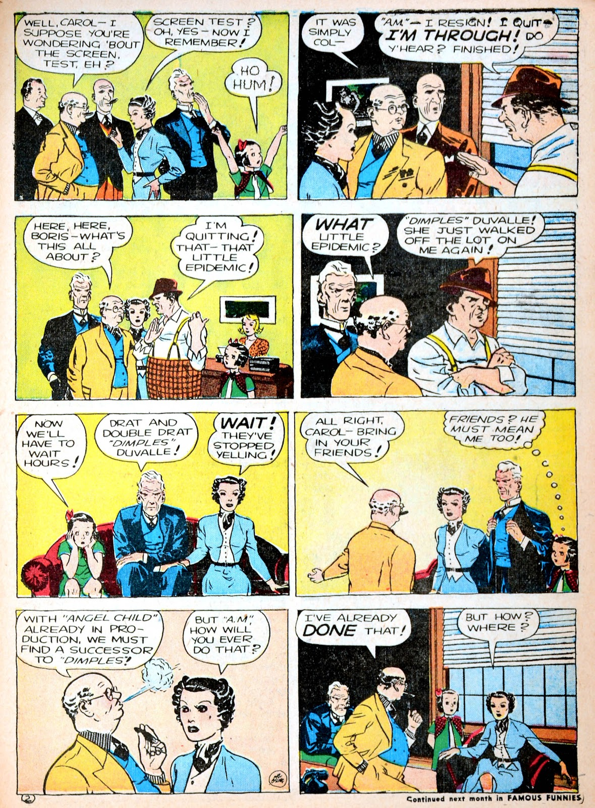 Read online Famous Funnies comic -  Issue #88 - 58
