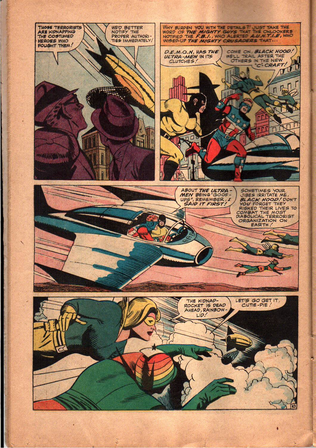 The Mighty Crusaders (1965) Issue #5 #5 - English 11