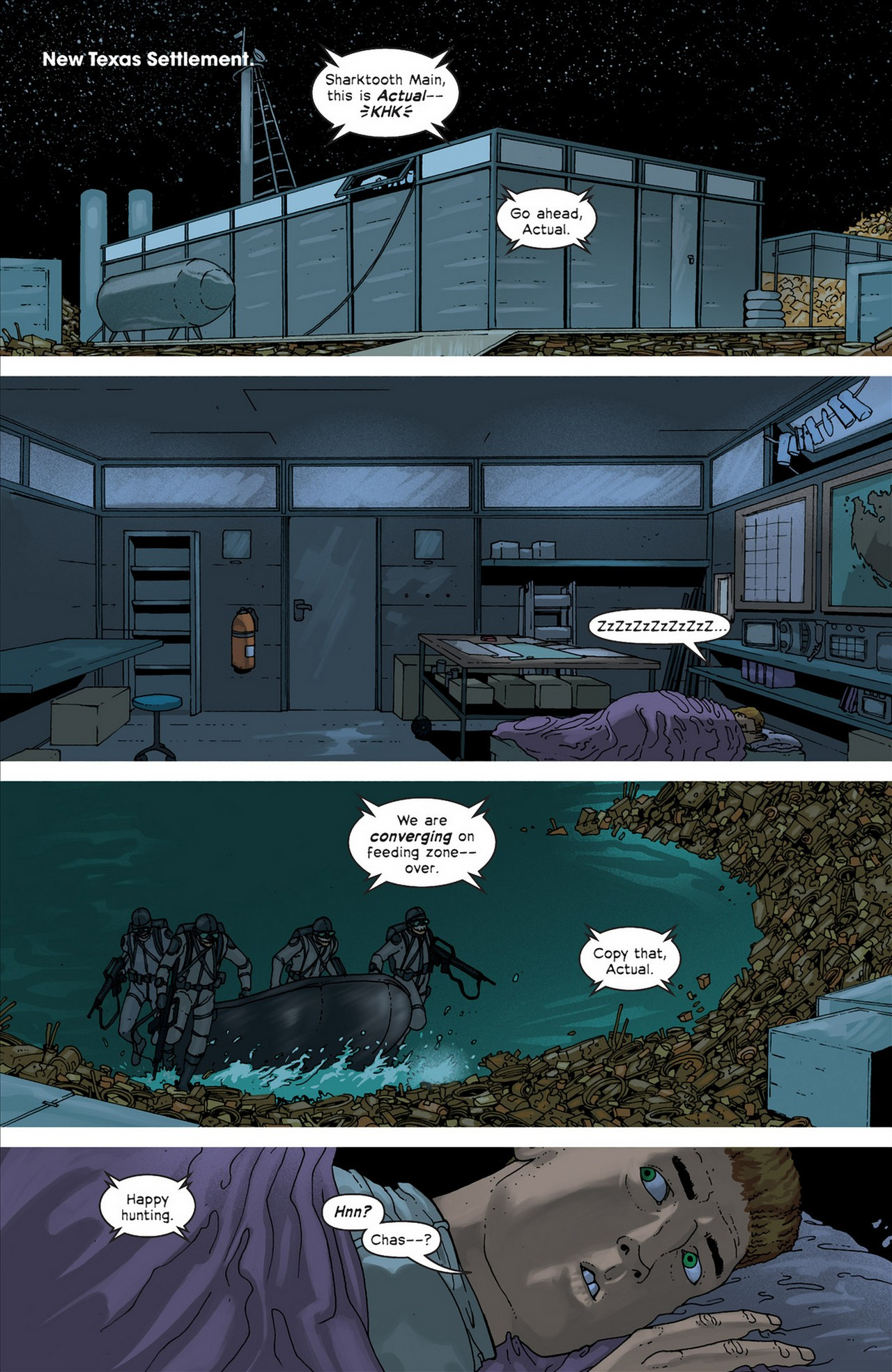 Read online Great Pacific comic -  Issue #4 - 12