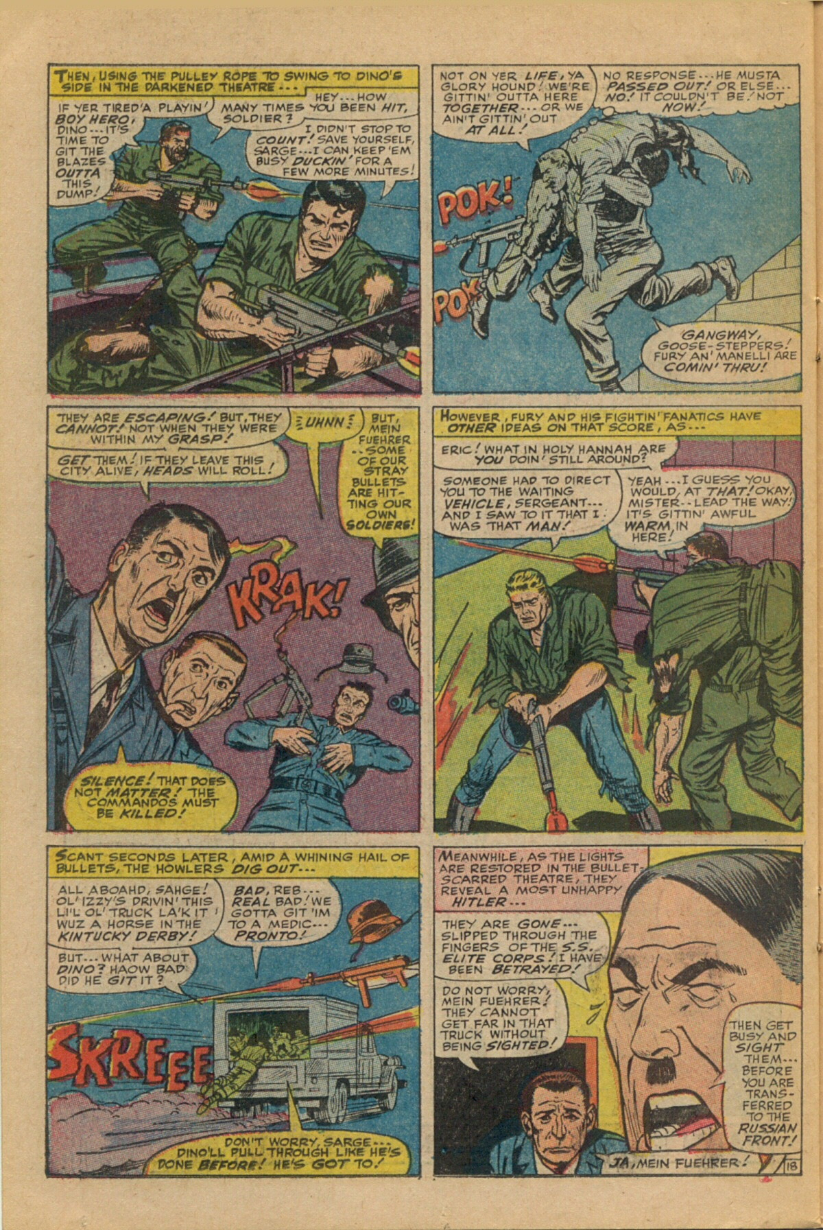 Read online Sgt. Fury comic -  Issue #35 - 26