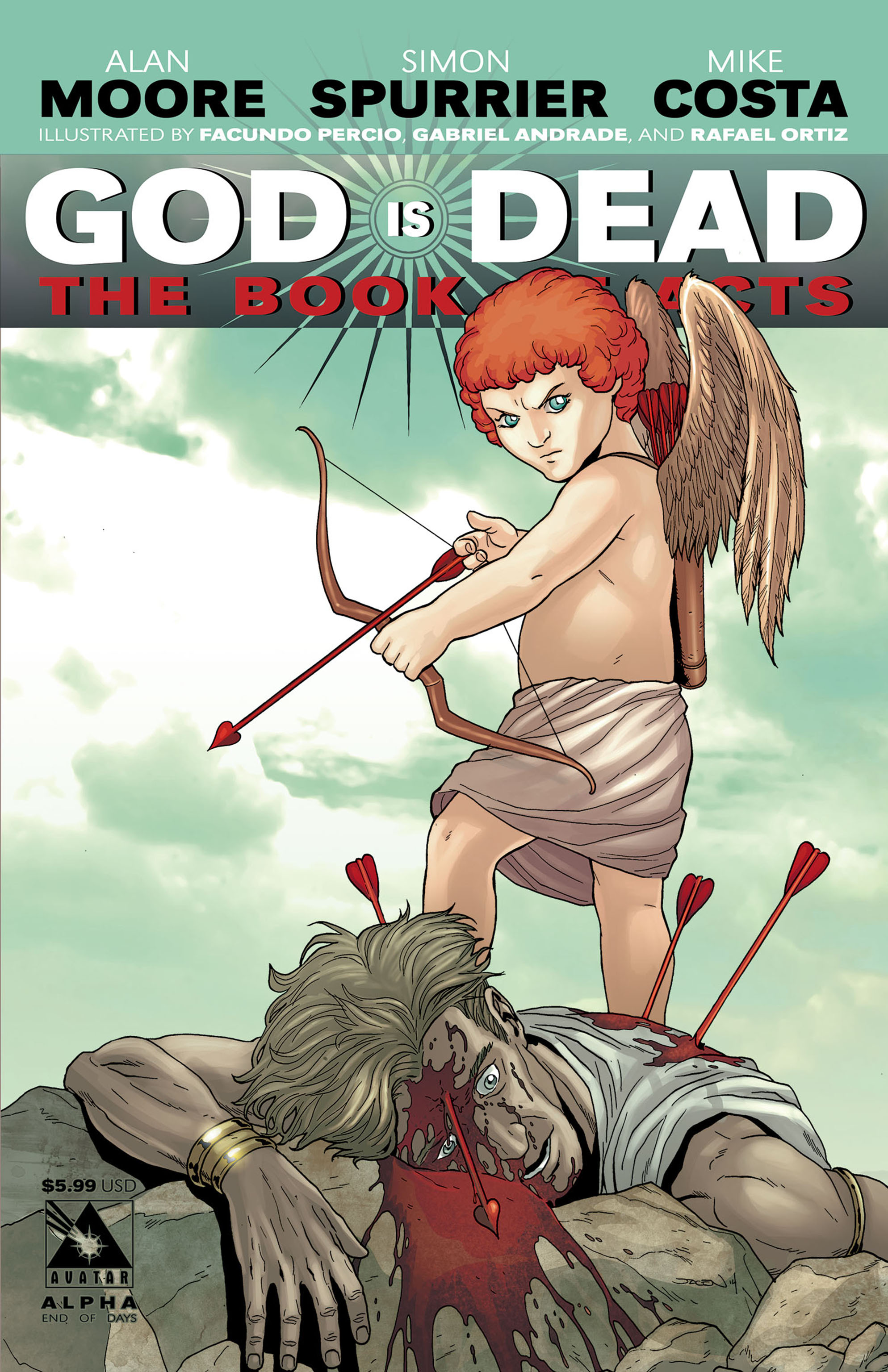Read online God is Dead: Book of Acts comic -  Issue # Alpha - 3
