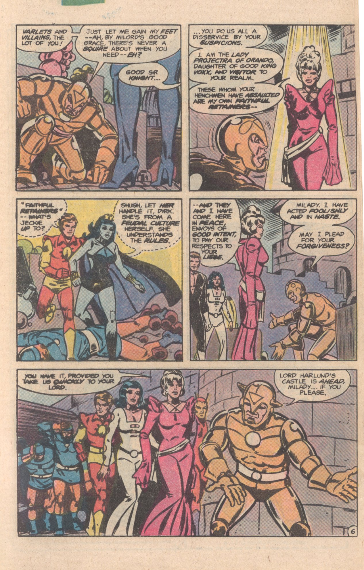 Legion of Super-Heroes (1980) 276 Page 6