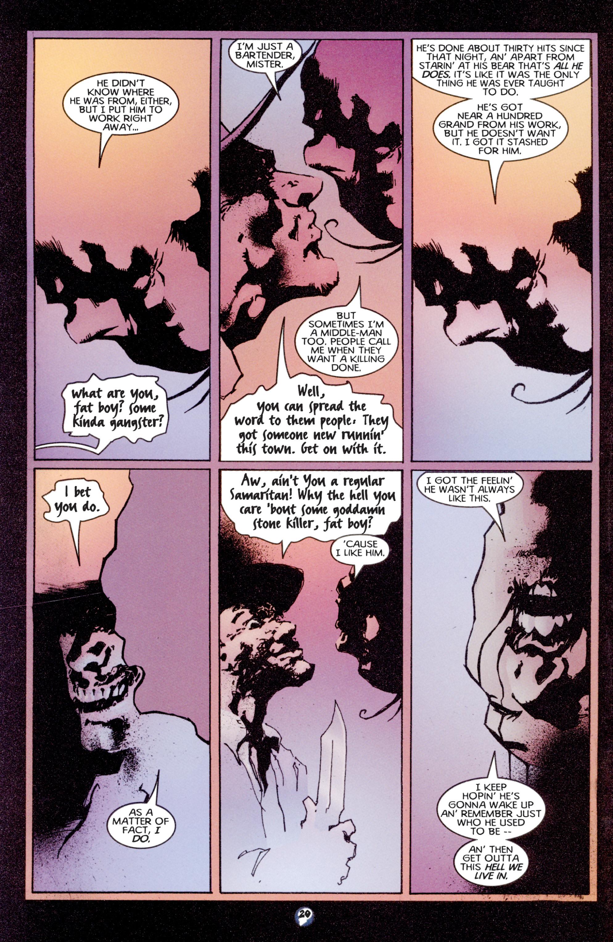 Read online Shadowman (1997) comic -  Issue #3 - 17