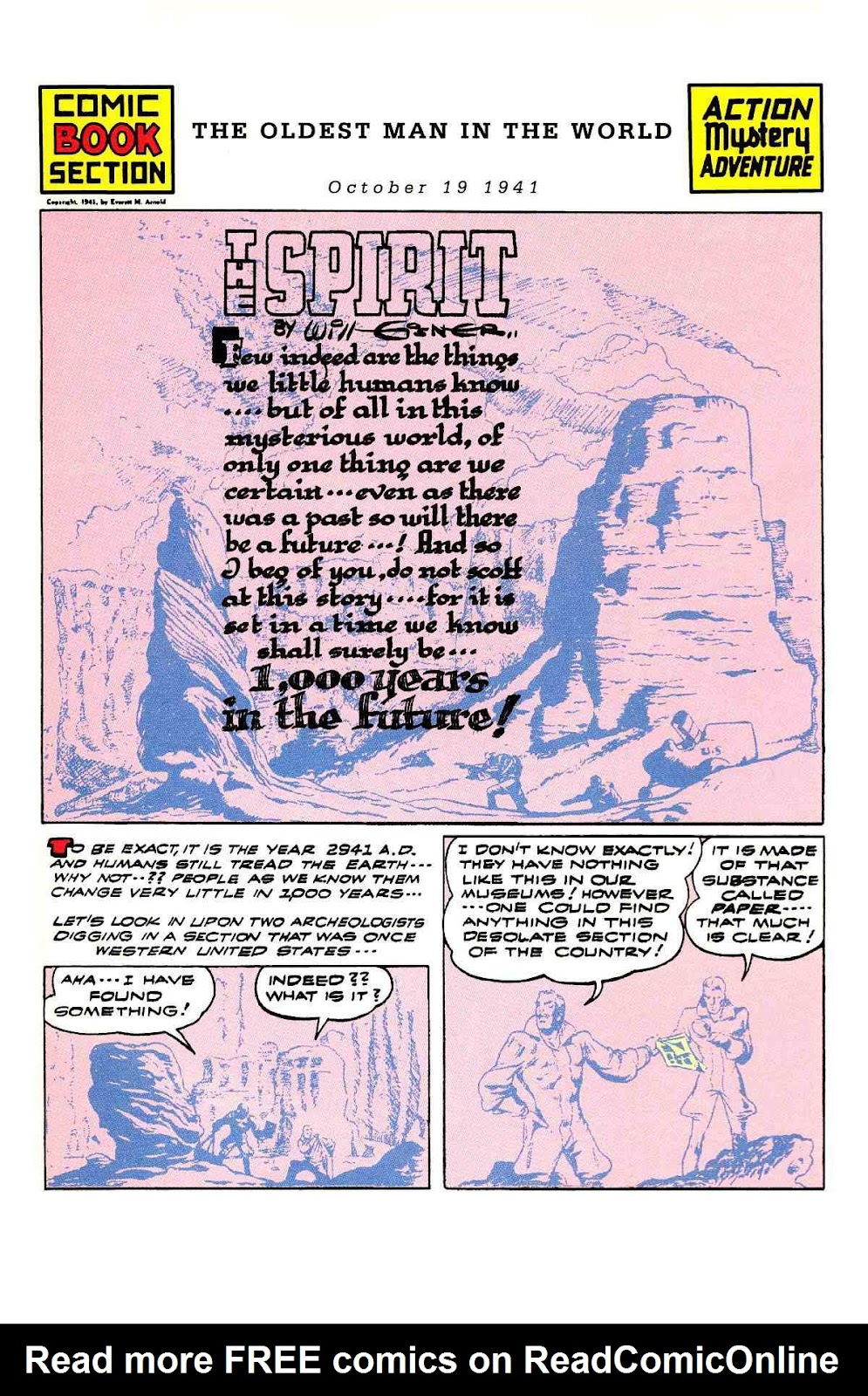 Read online Will Eisner's The Spirit Archives comic -  Issue # TPB 3 (Part 2) - 22