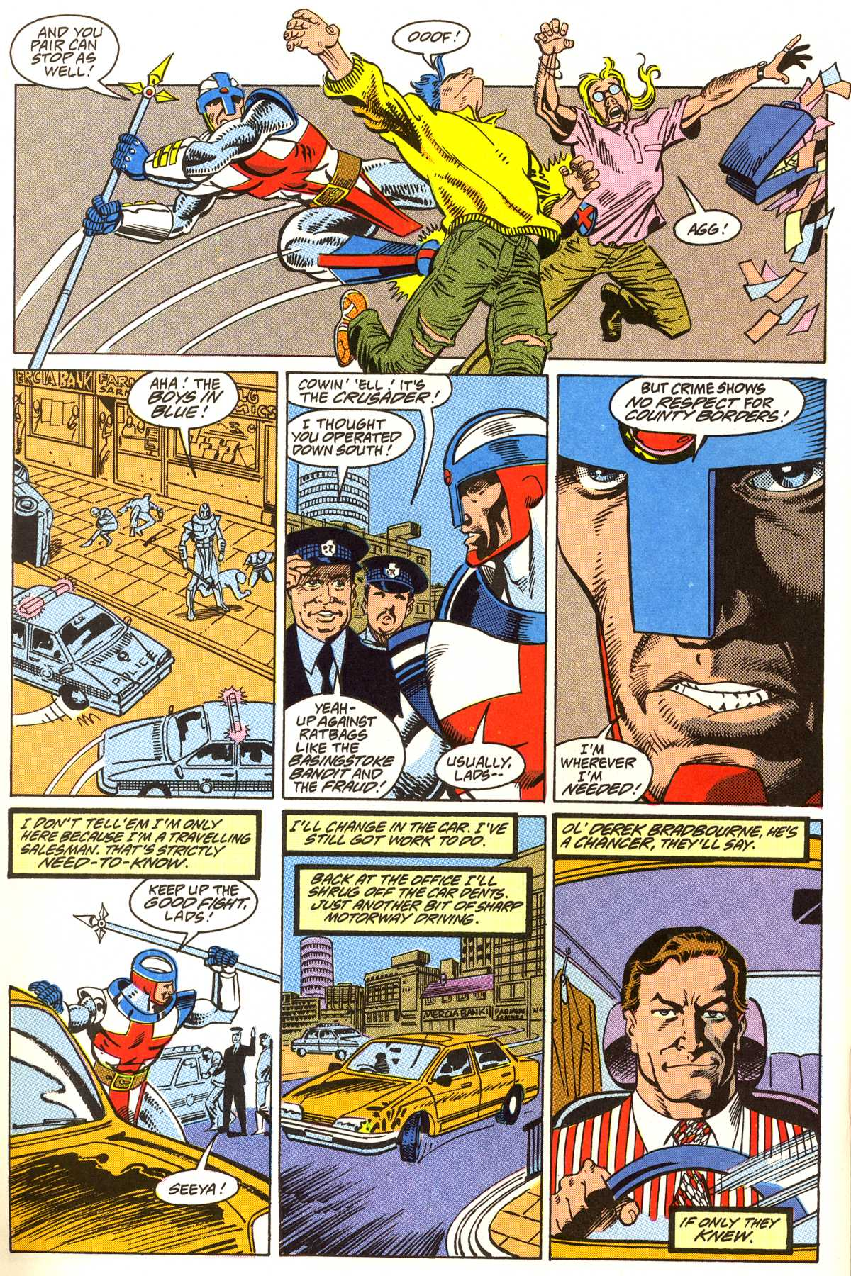 Read online Peter Cannon--Thunderbolt (1992) comic -  Issue #4 - 15