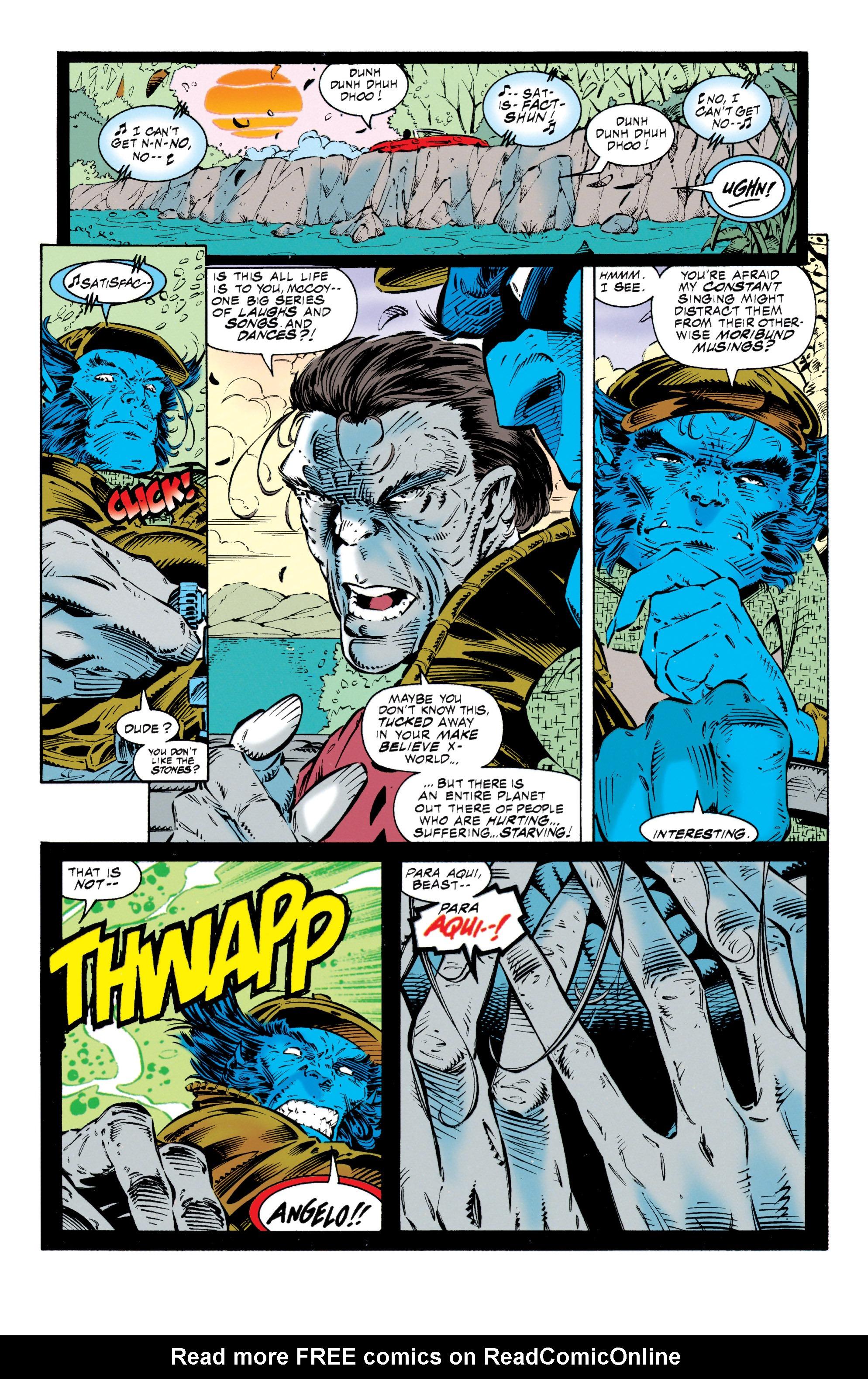 Read online Uncanny X-Men (1963) comic -  Issue #318 - 11
