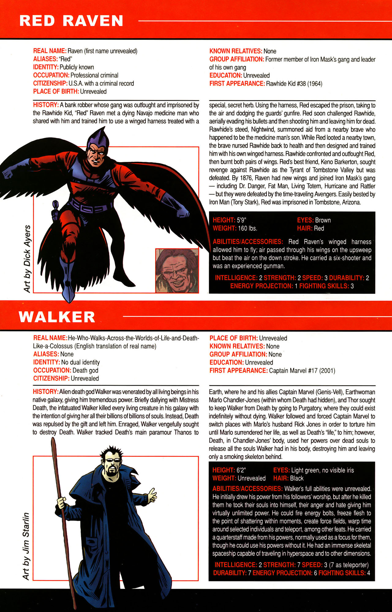 Read online All-New Official Handbook of the Marvel Universe A to Z: Update comic -  Issue #1 - 65