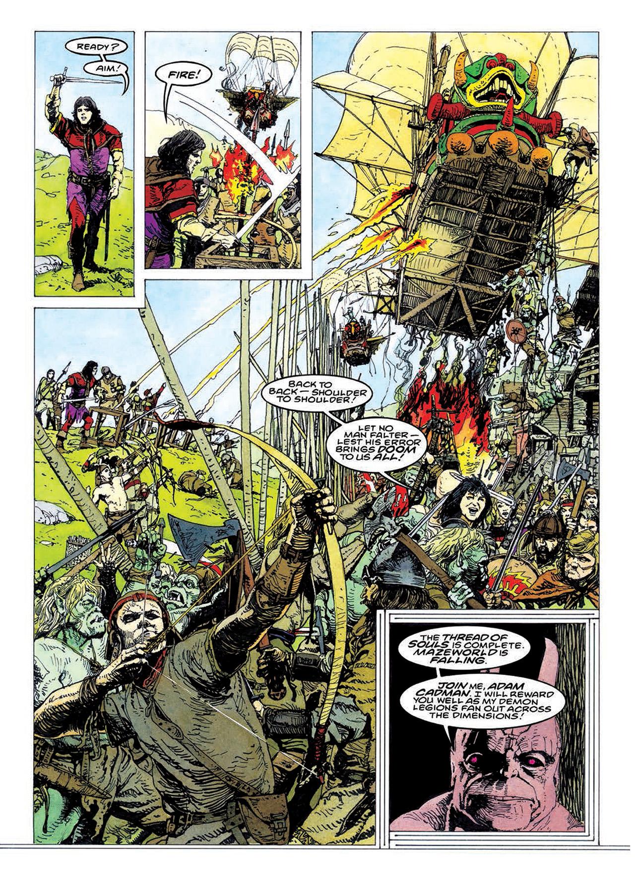 Read online Mazeworld comic -  Issue # TPB - 175