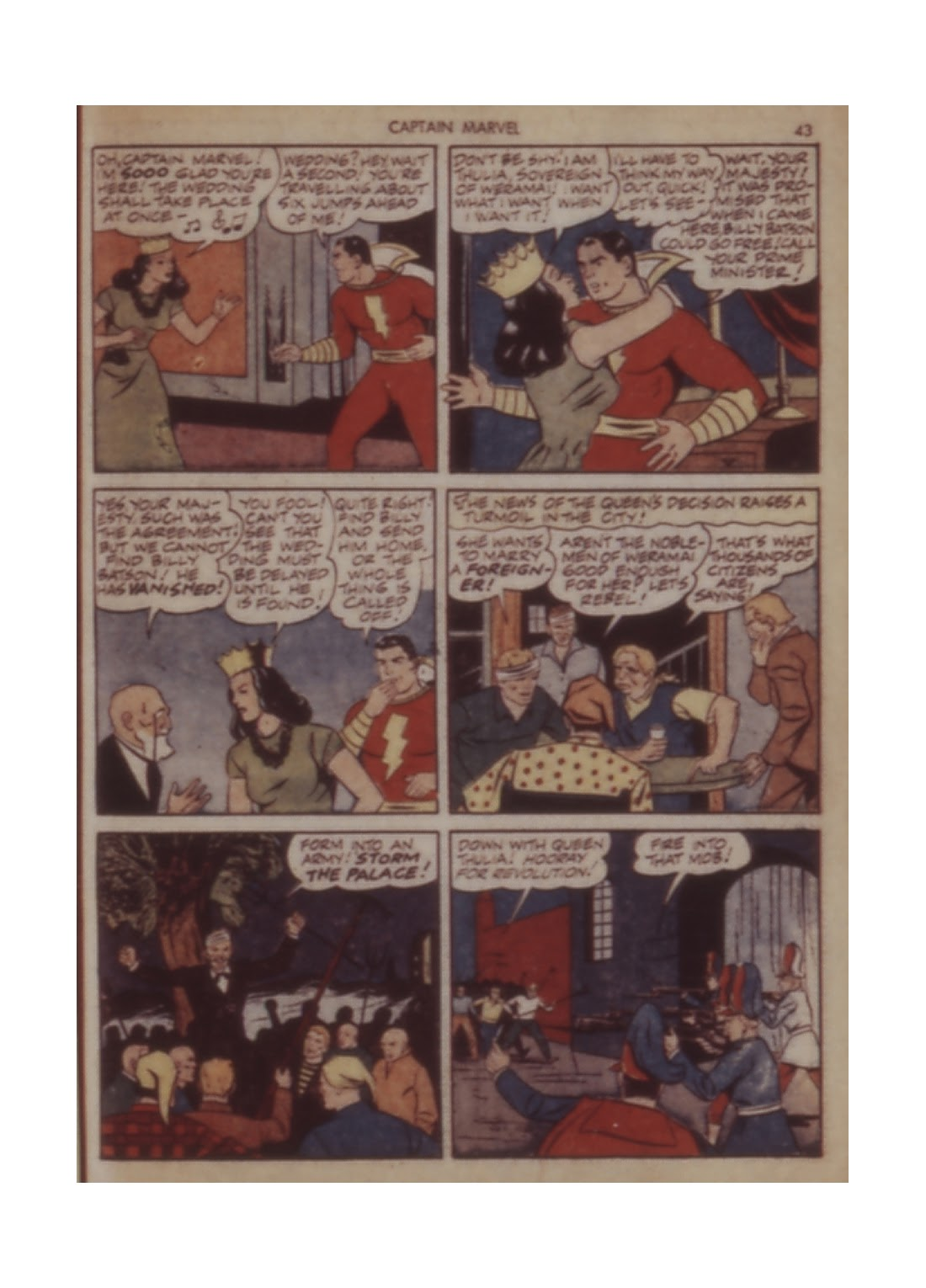 Captain Marvel Adventures issue 11 - Page 43