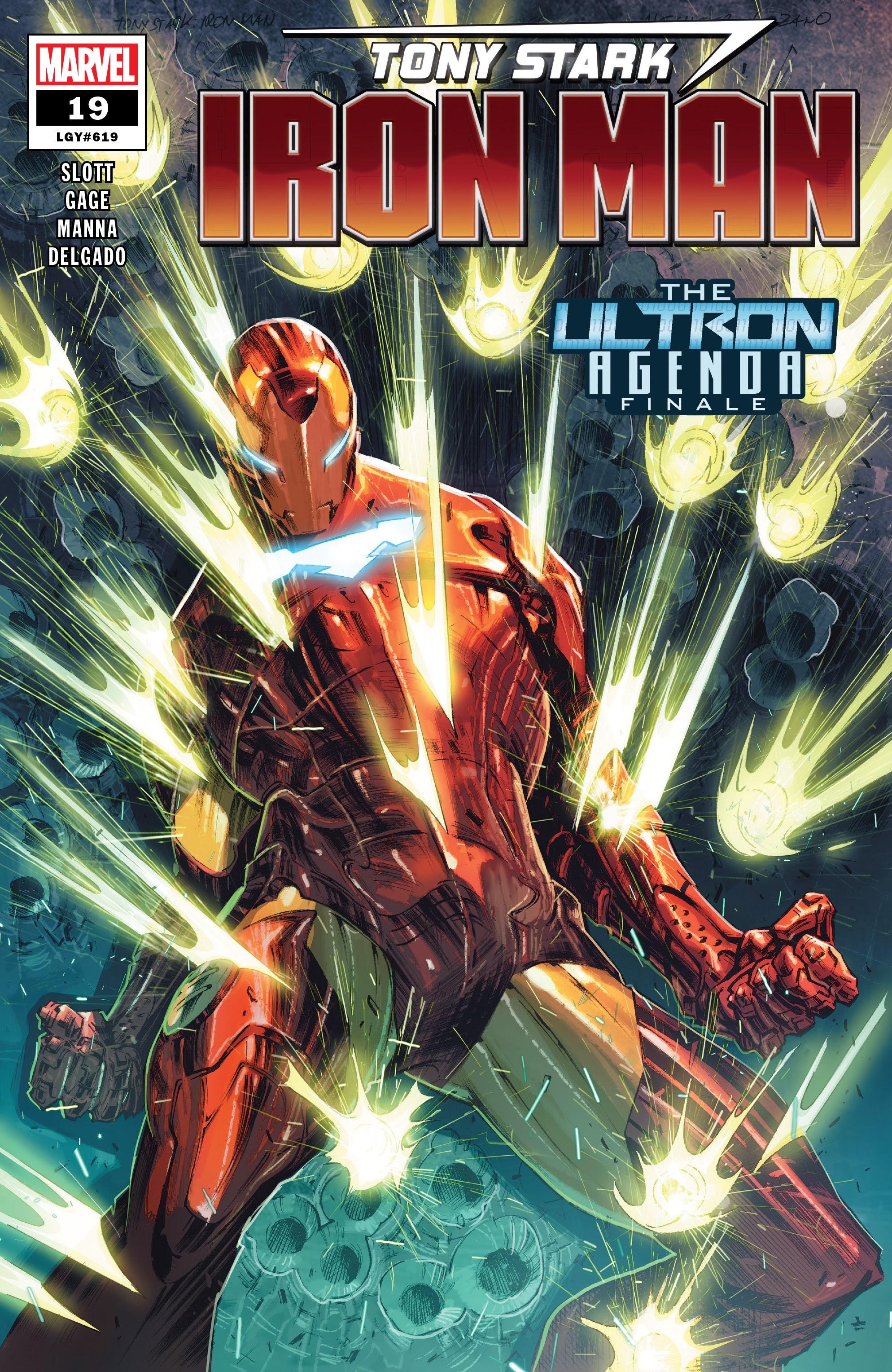 Tony Stark: Iron Man 19 Page 1