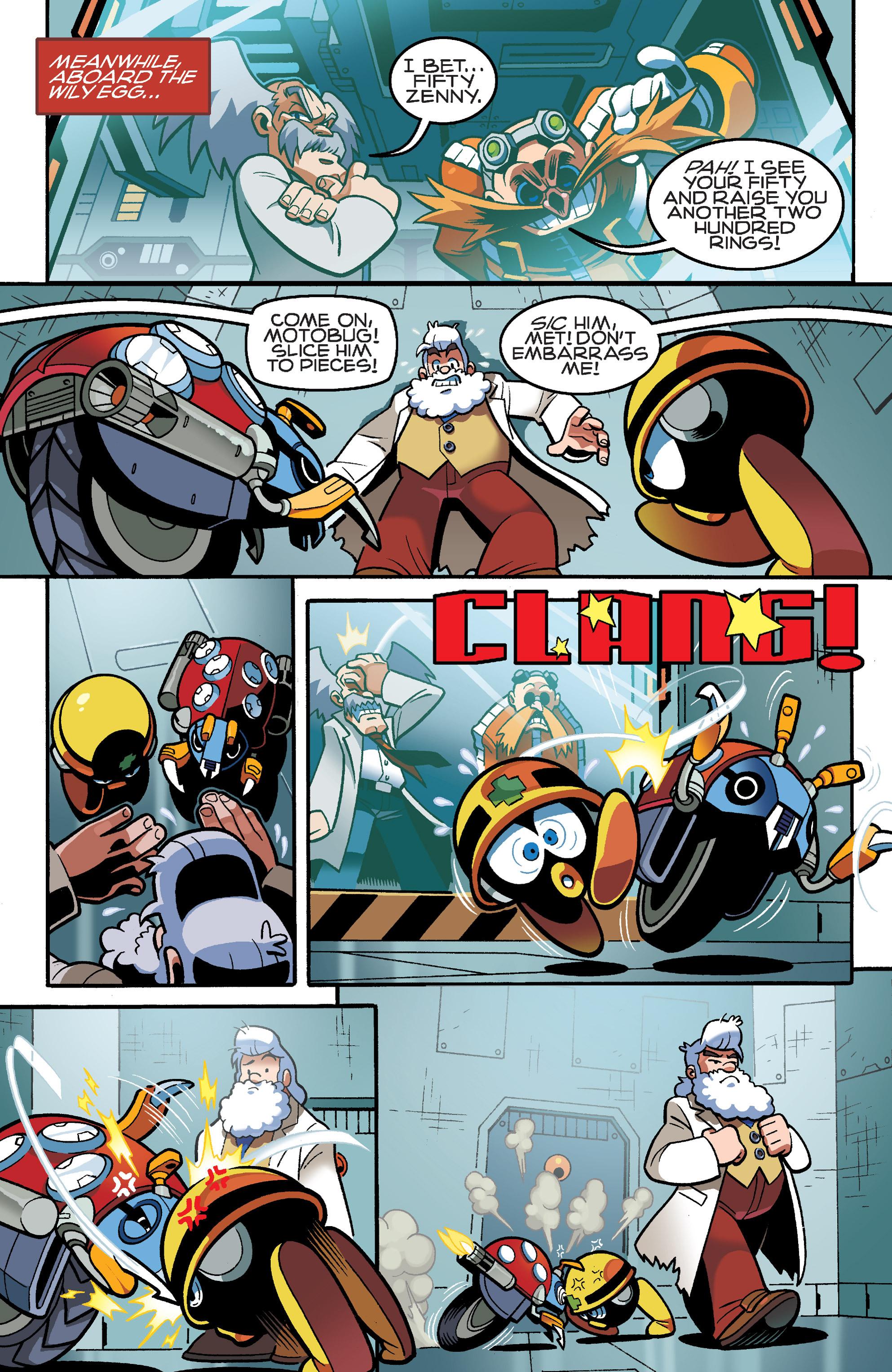 Read online Sonic Mega Man Worlds Collide comic -  Issue # Vol 3 - 15