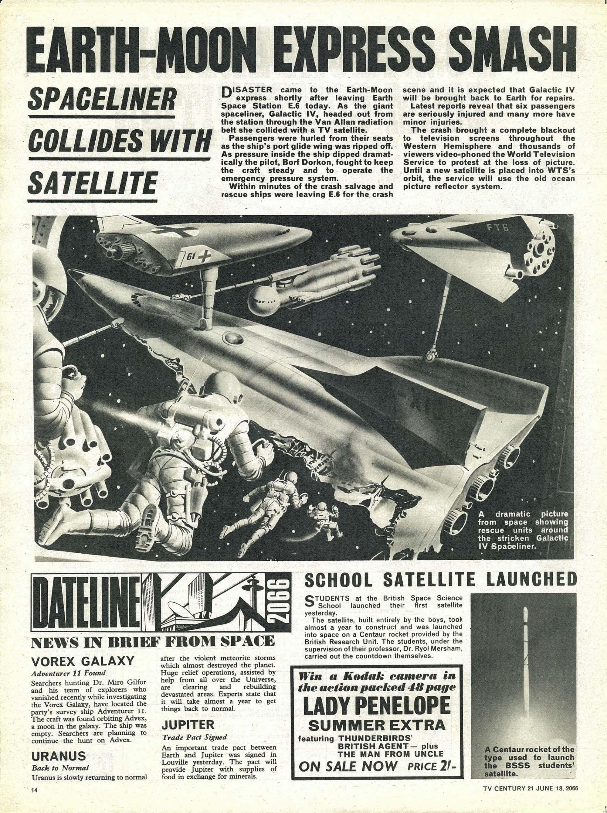 Read online TV Century 21 (TV 21) comic -  Issue #74 - 13