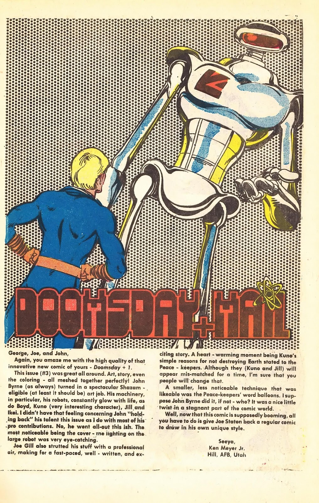 Read online Doomsday   1 (1975) comic -  Issue #5 - 31