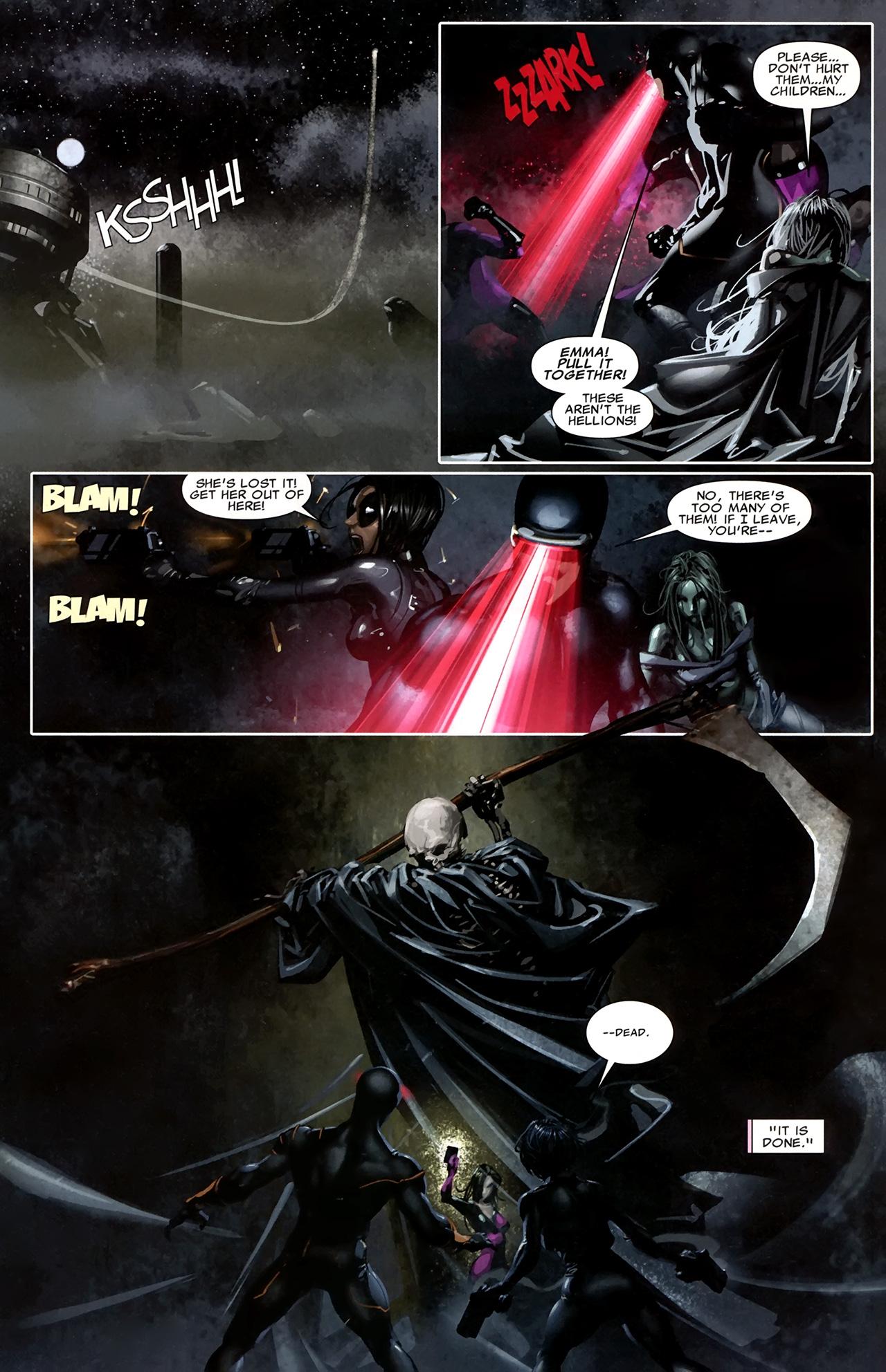 Read online X Necrosha comic -  Issue # Full - 25