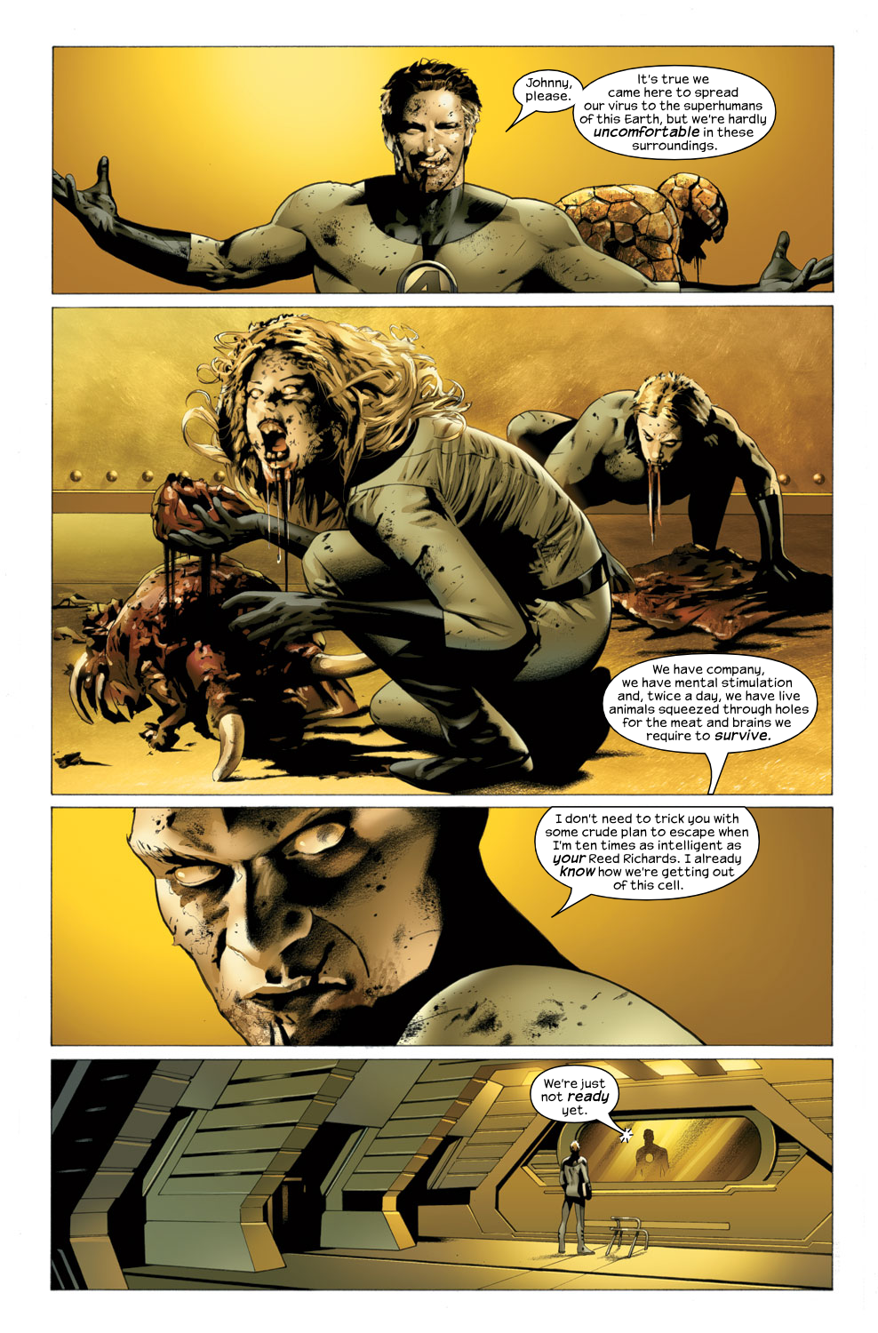 Read online Ultimate Fantastic Four (2004) comic -  Issue #27 - 10