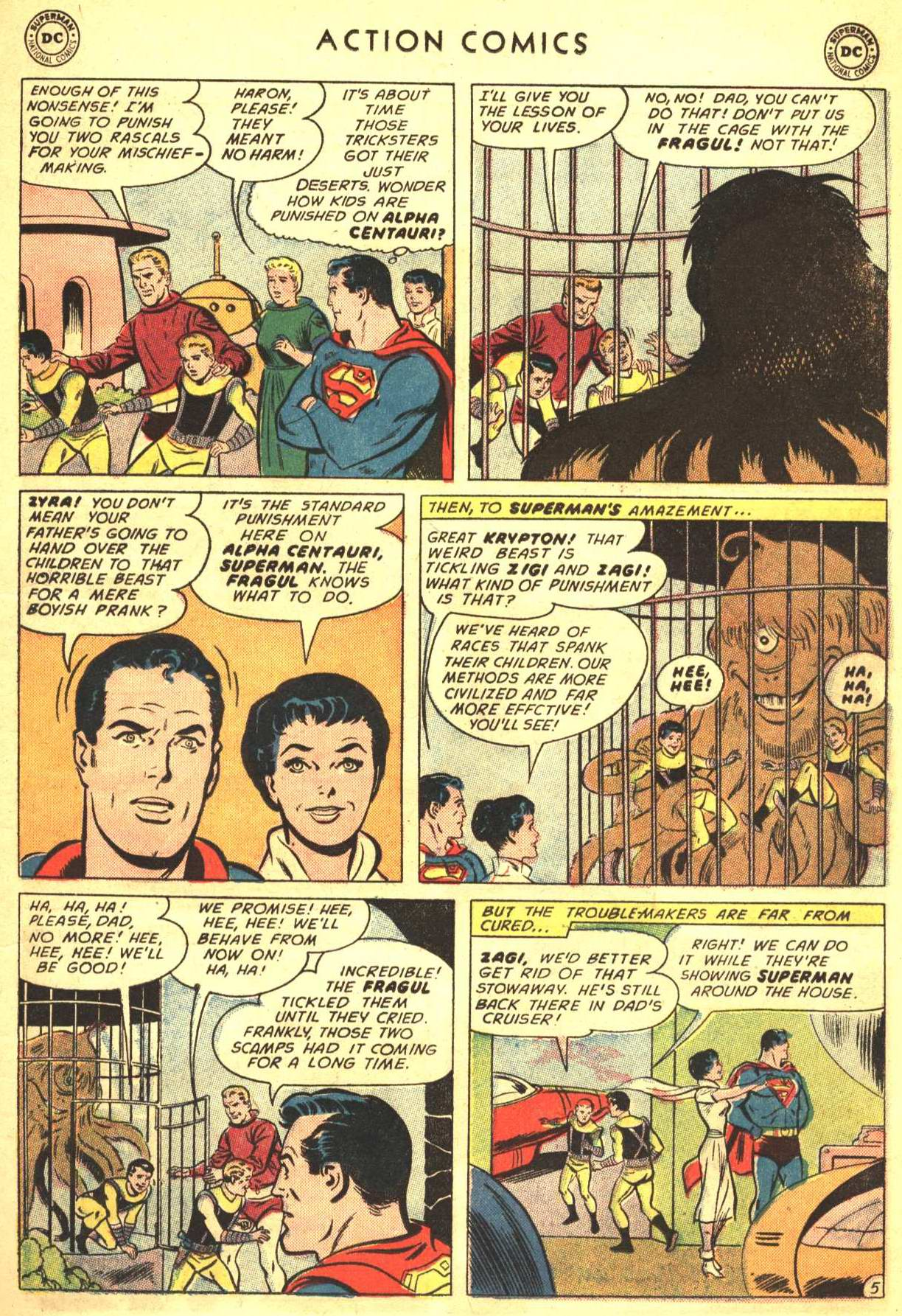 Read online Action Comics (1938) comic -  Issue #316 - 6