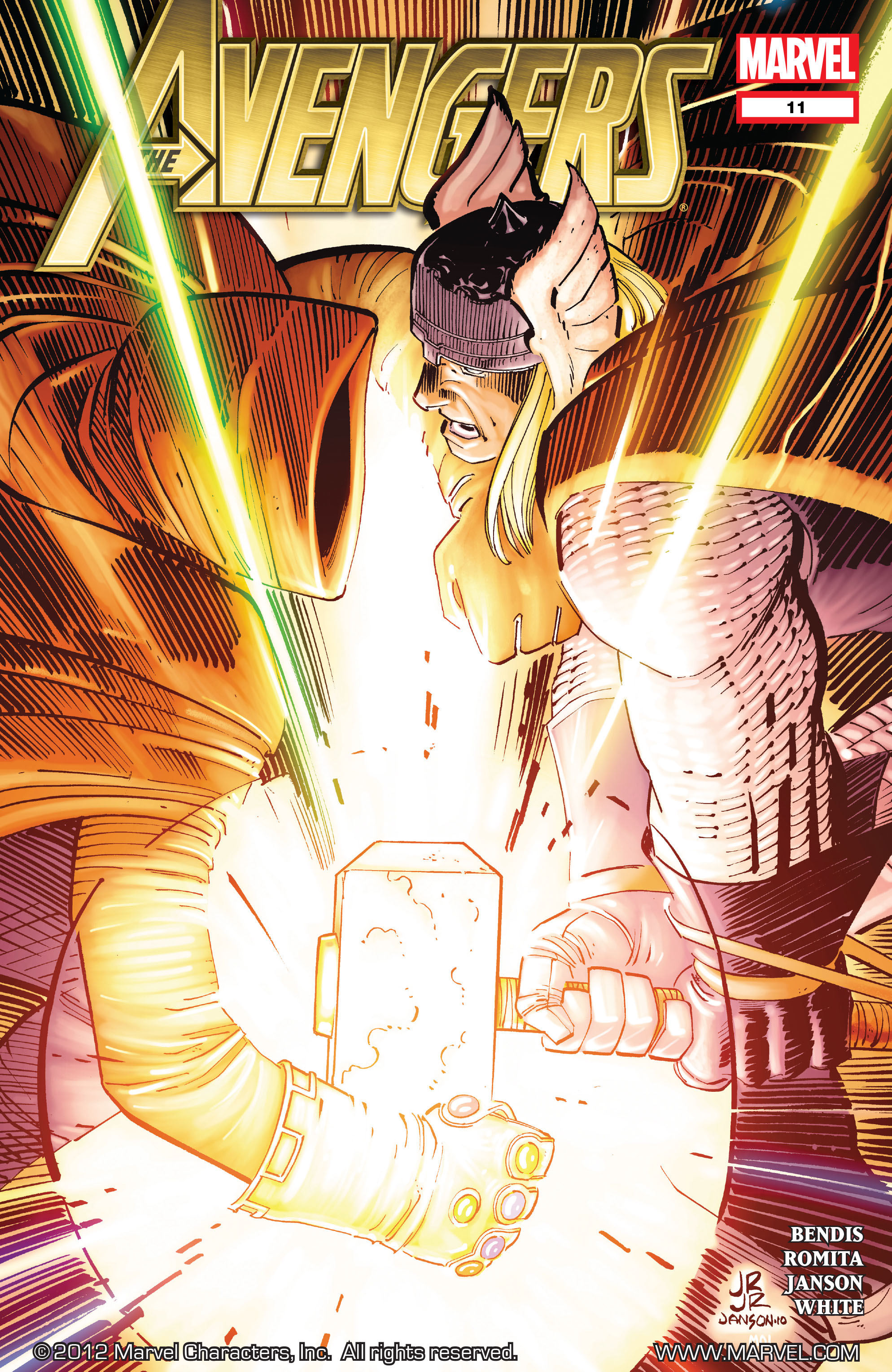 Read online Avengers (2010) comic -  Issue #11 - 1