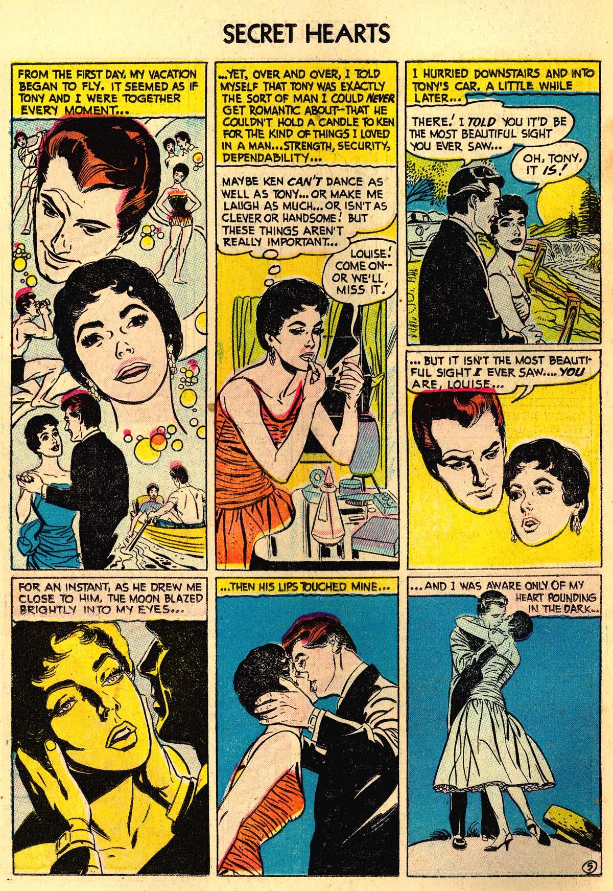 Read online Secret Hearts comic -  Issue #30 - 14
