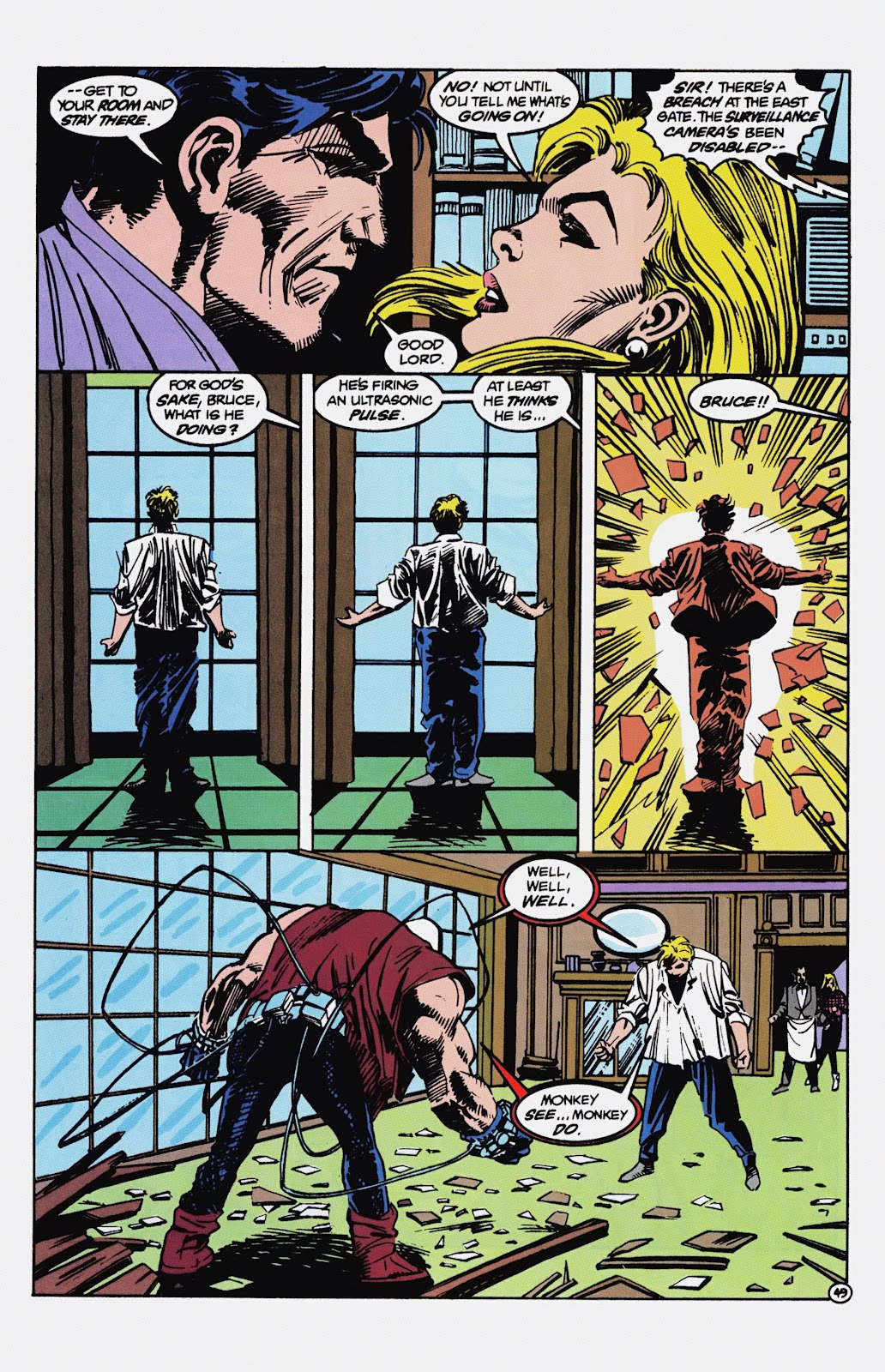 Read online Detective Comics (1937) comic -  Issue # _TPB Batman - Blind Justice (Part 1) - 54