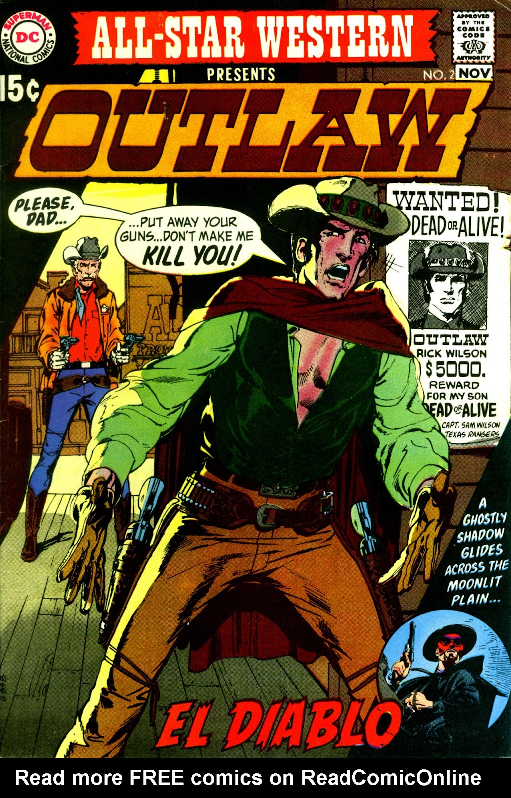 All-Star Western (1970) issue 2 - Page 1