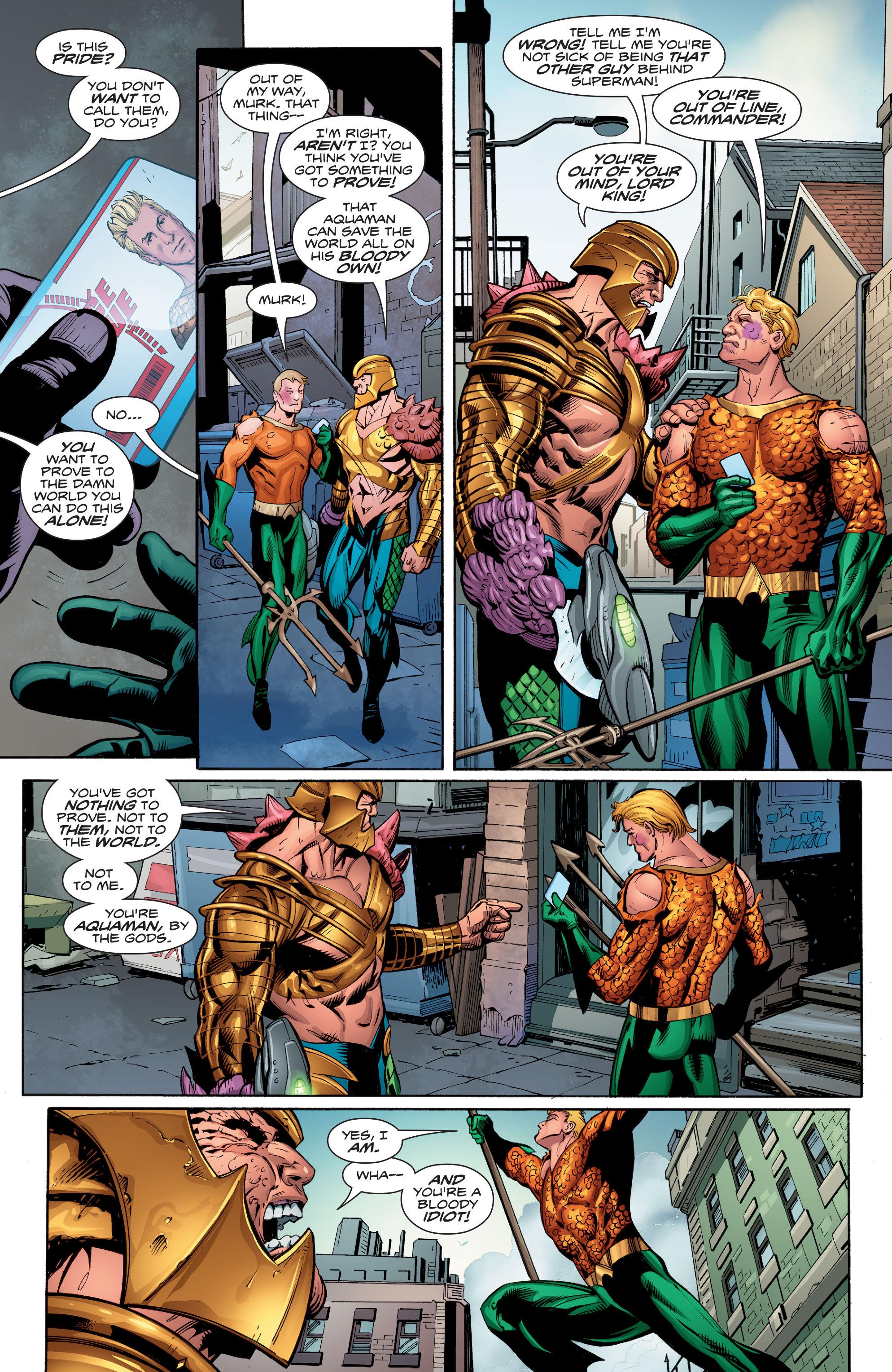 Read online Aquaman (2016) comic -  Issue #9 - 17