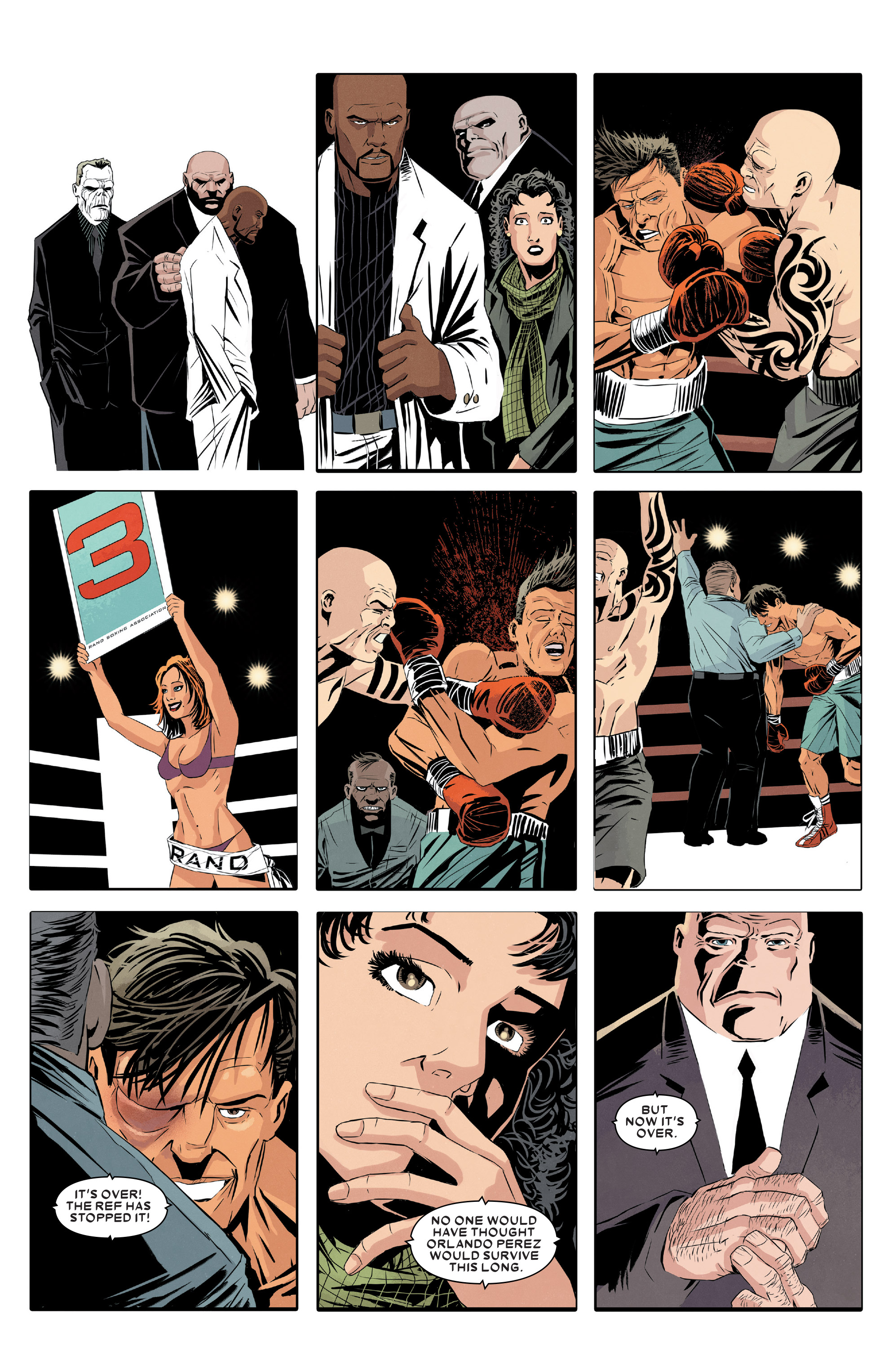 Read online Kingpin (2017) comic -  Issue #5 - 18