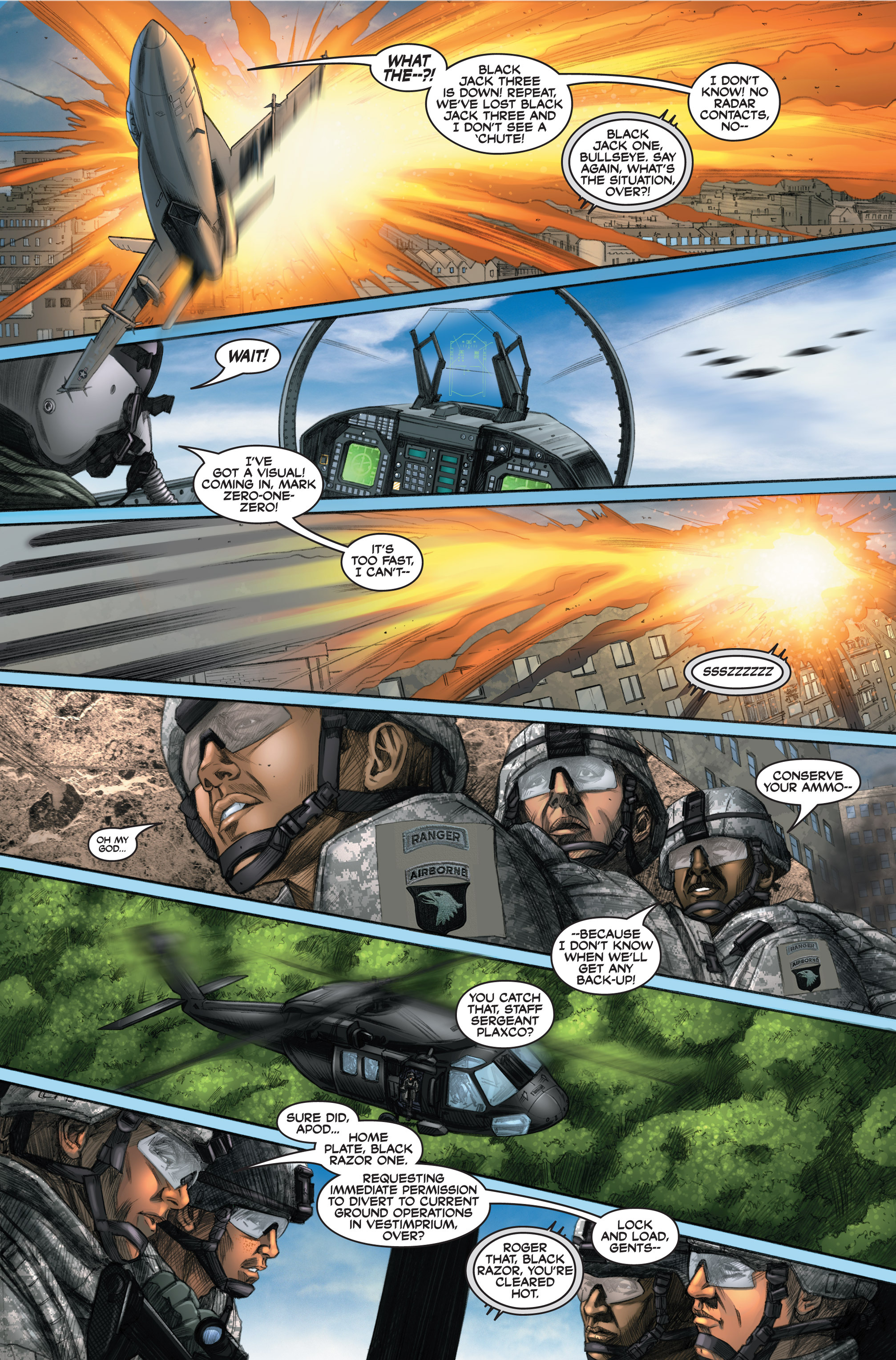 Read online America's Army comic -  Issue #6 - 21