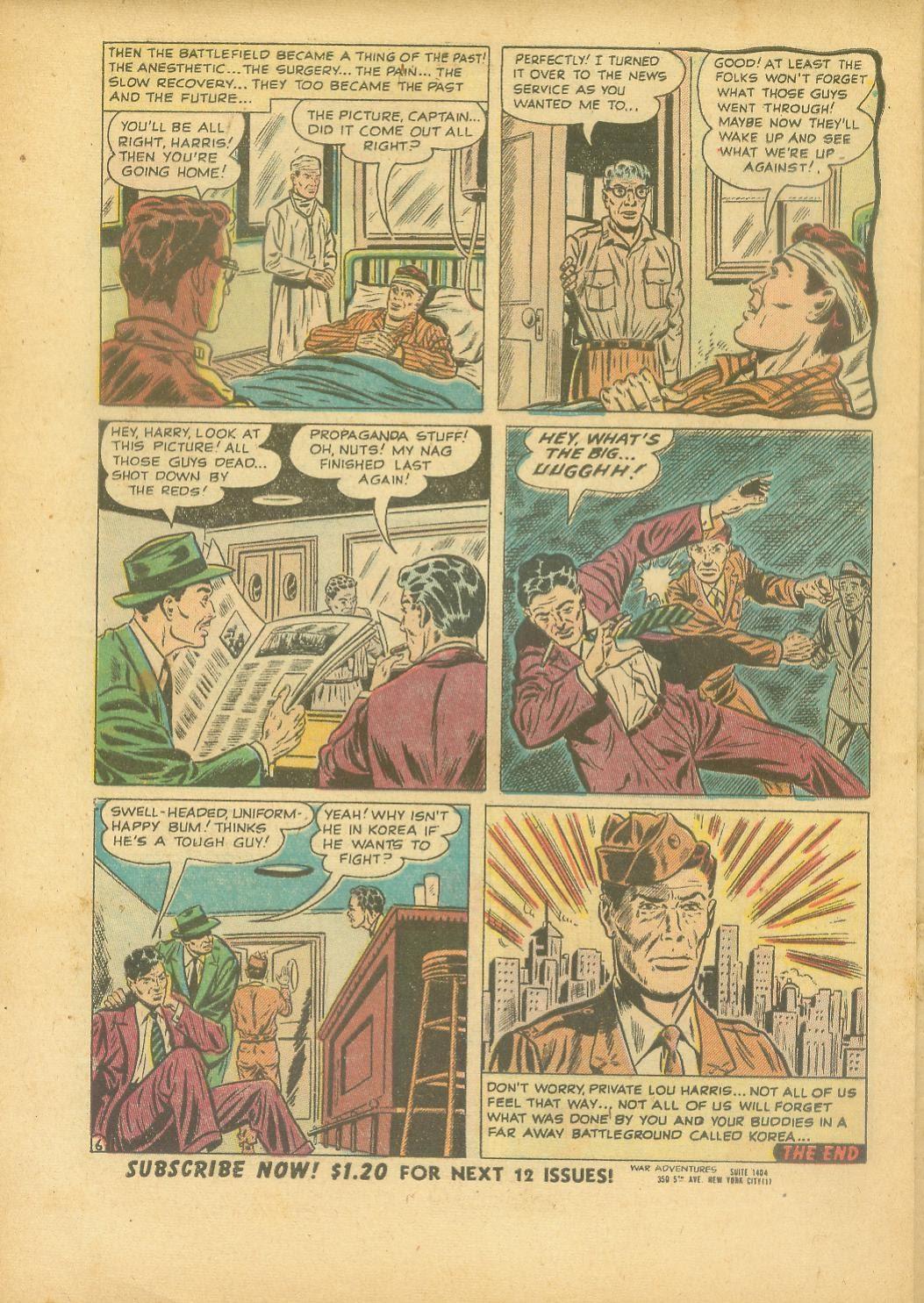 War Adventures issue 1 - Page 32