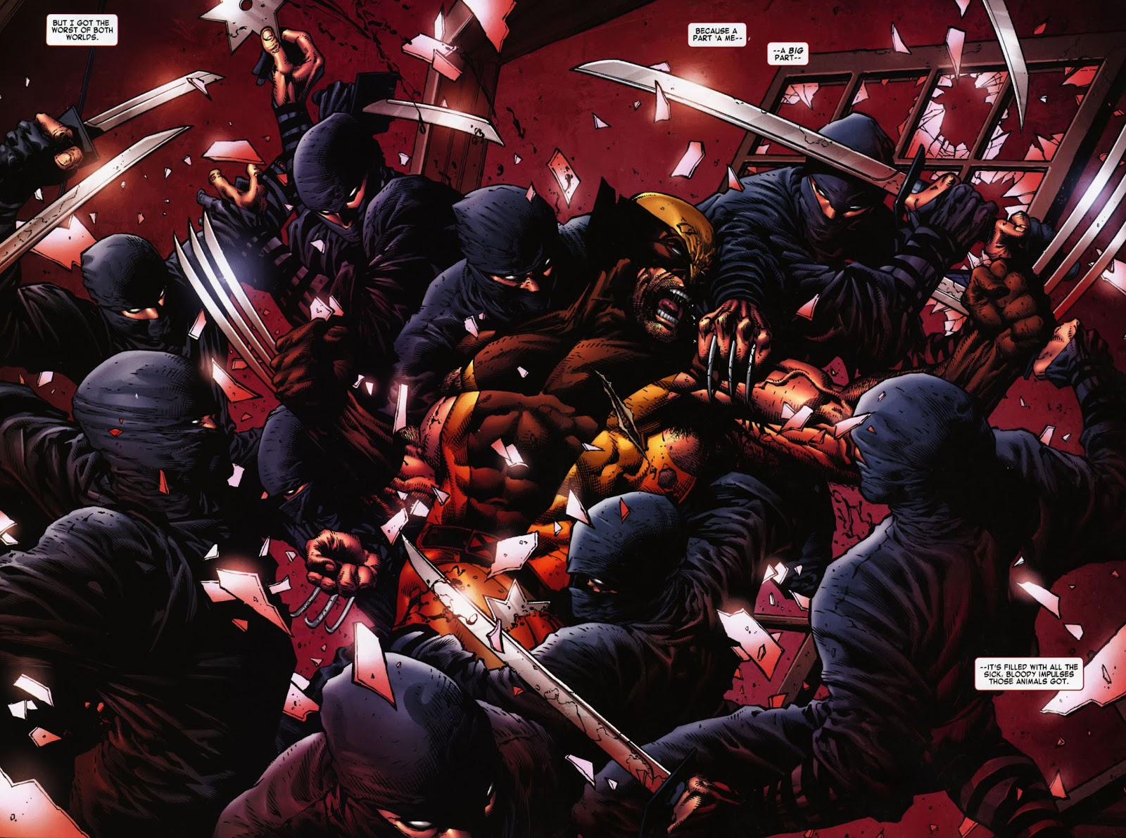 Read online Wolverine (2003) comic -  Issue #900 - 6